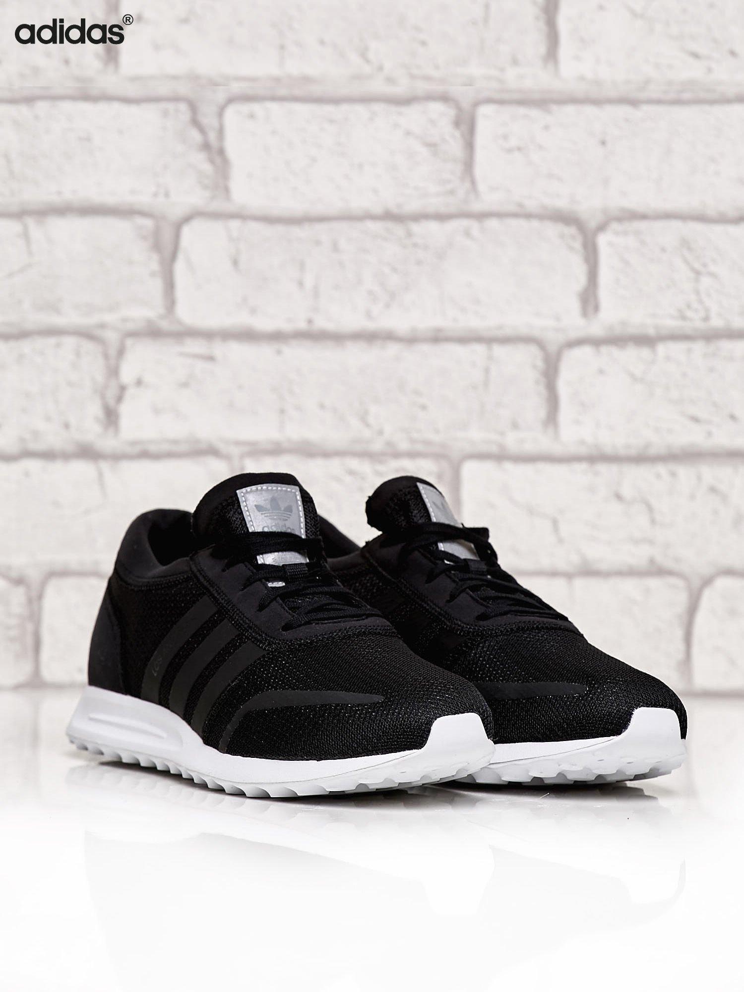 c7626de0694e0 ADIDAS czarne buty męskie Originals Los Angeles z wypustkami na podeszwie -  Mężczyźni Buty męskie - sklep eButik.pl
