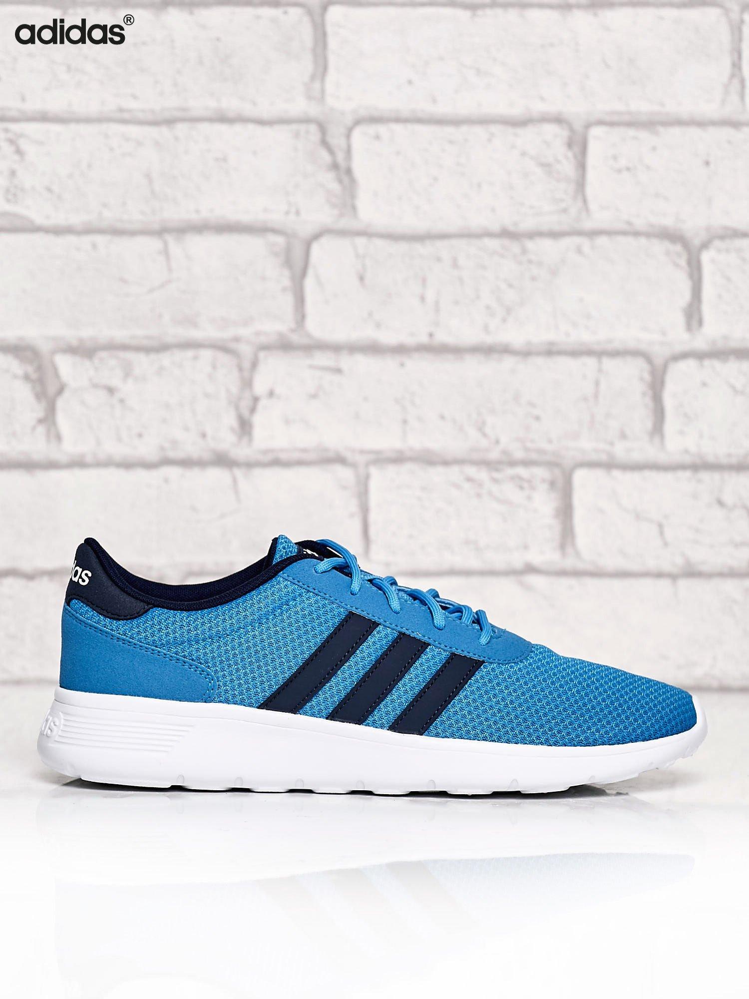 ADIDAS niebieskie buty męskie sportowe Lite Racer z wyższą