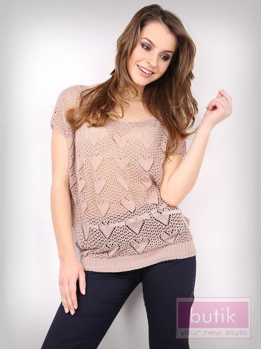 Ażurowy sweter                                  zdj.                                  1