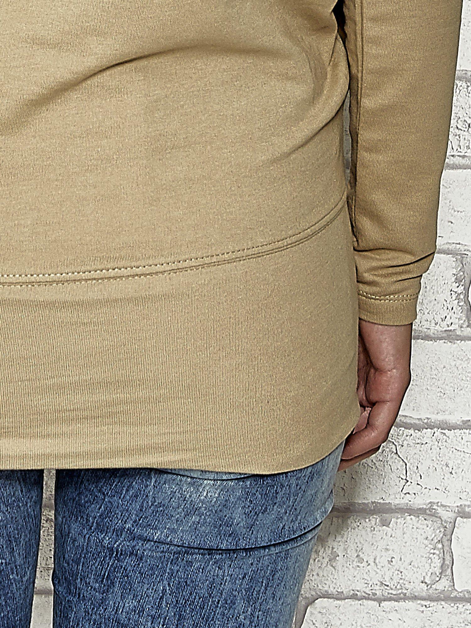 Beżowa bluza z kieszeniami Funk n Soul                                  zdj.                                  8