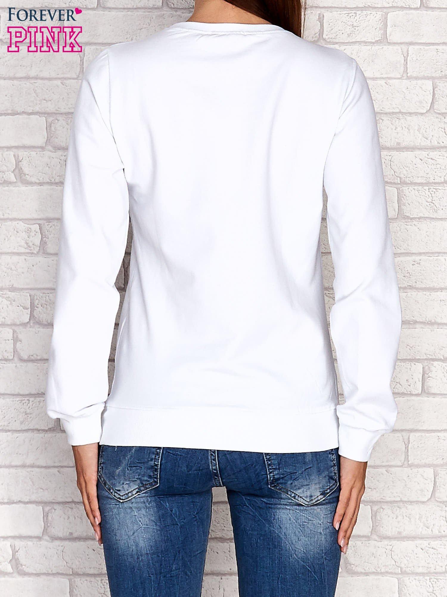 Biała bluza z napisem ARIGATO                                  zdj.                                  5