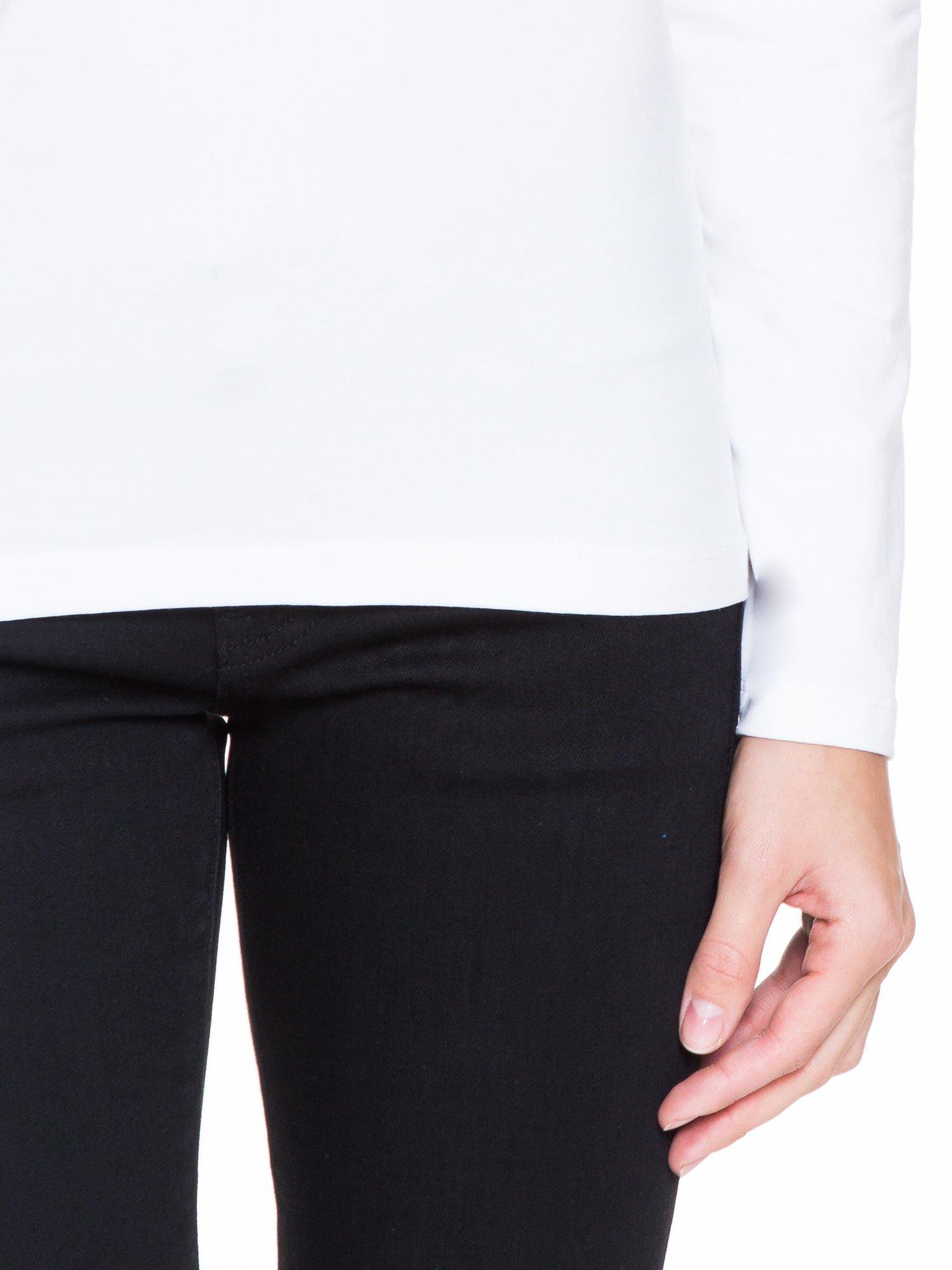 Biała bluzka z tiulowym karczkiem                                  zdj.                                  6