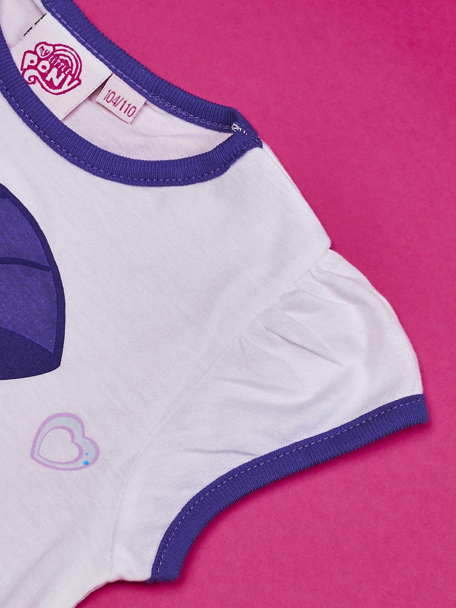 Biała tunika dla dziewczynki MY LITTLE PONY                                  zdj.                                  4