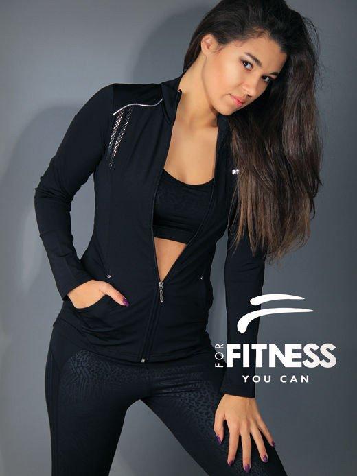 Bluza For Fitness bez kaptura                                  zdj.                                  1