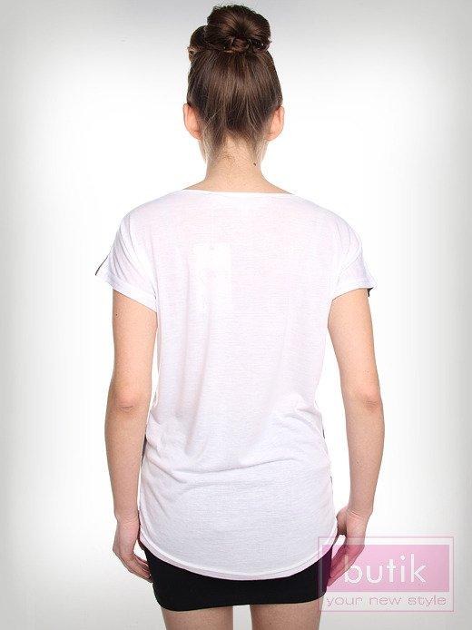 Bluzka z nadrukiem                                  zdj.                                  2