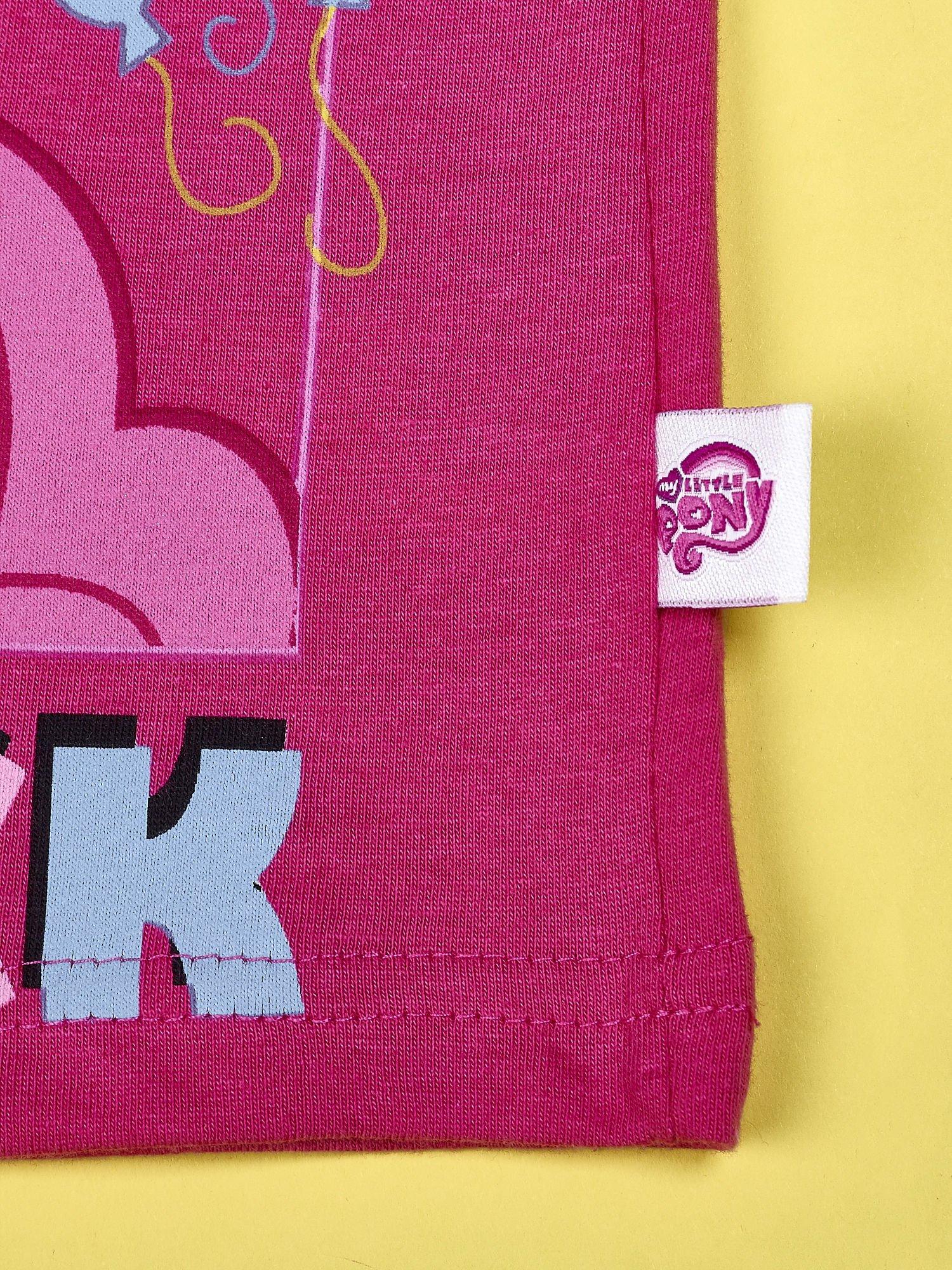 Ciemnoróżowy t-shirt dla dziewczynki MY LITTLE PONY                                  zdj.                                  5