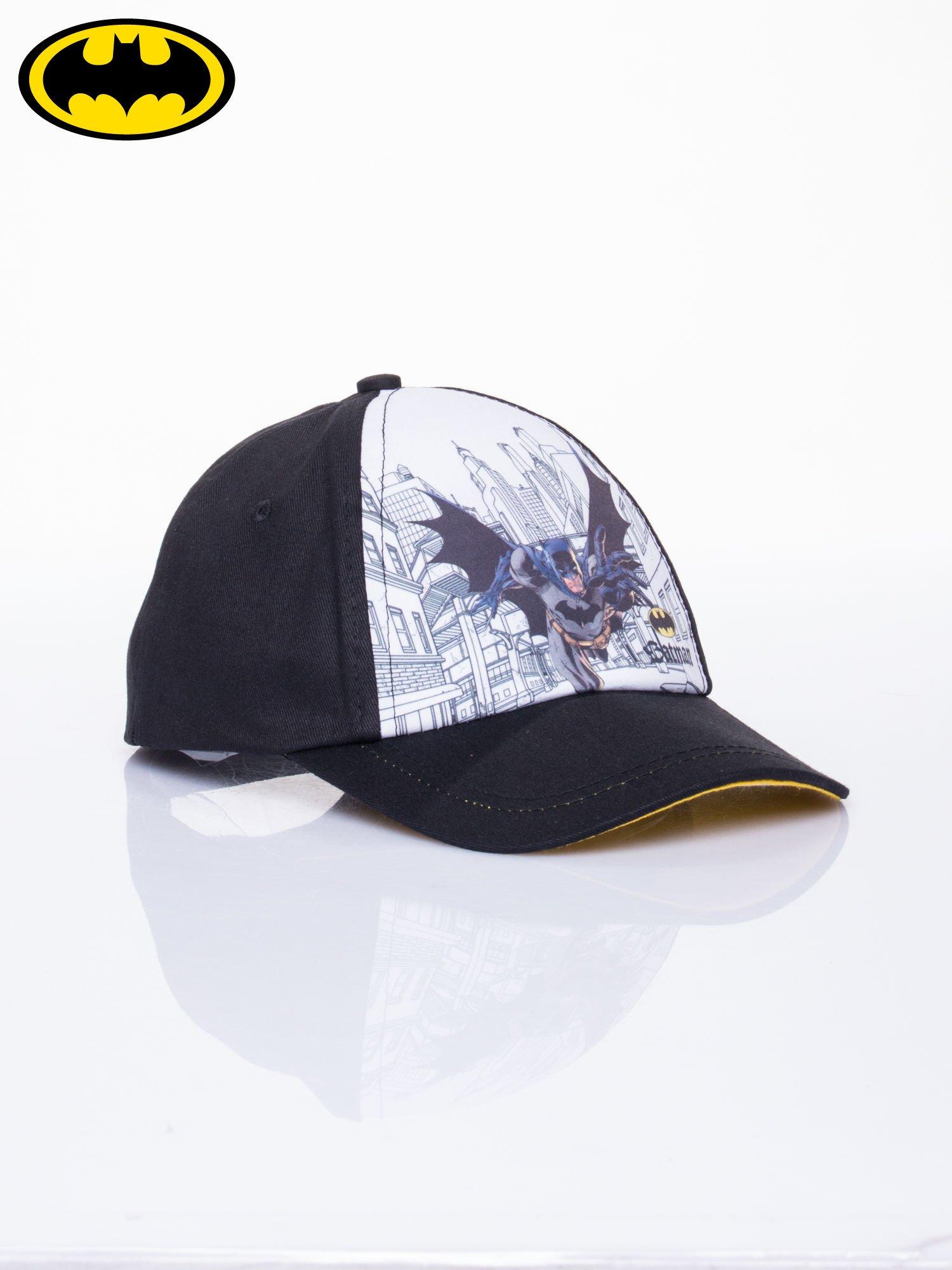 Czarna chłopięca czapka z daszkiem BATMAN                                  zdj.                                  2