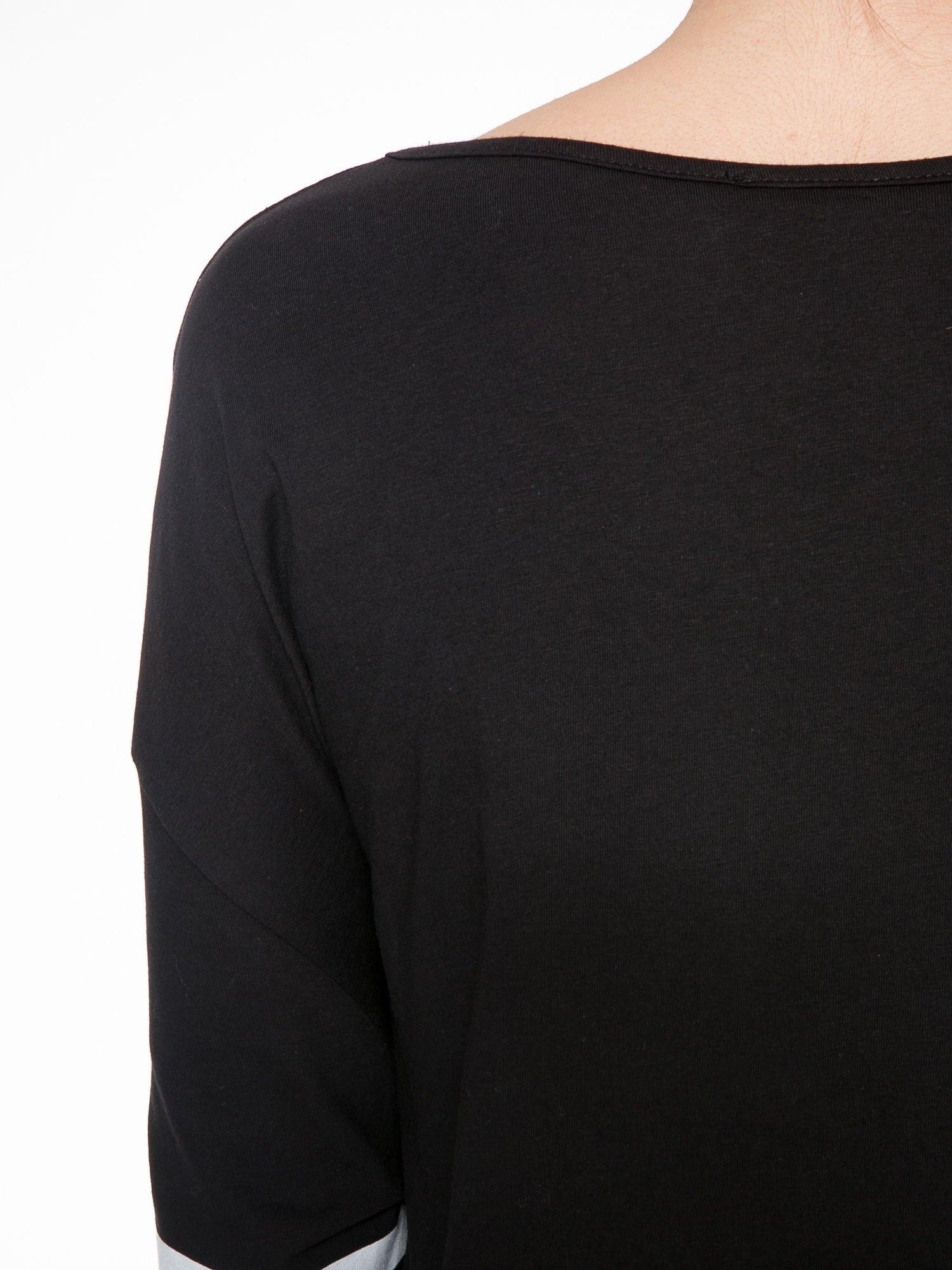 Czarna sukienka z numerem w stylu baseball dress                                  zdj.                                  7