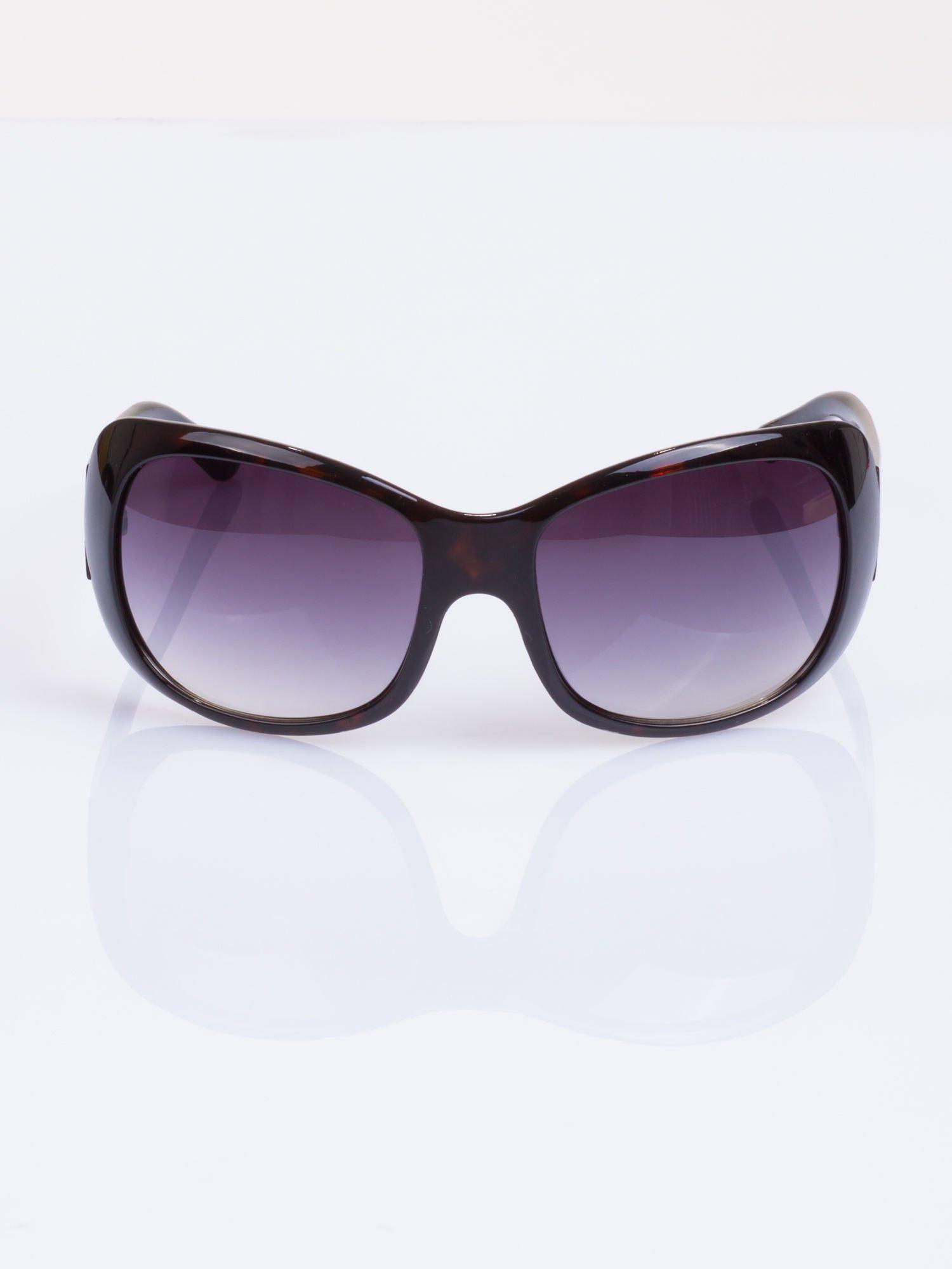 """Czarne damskie okulary """"muchy""""                                  zdj.                                  2"""