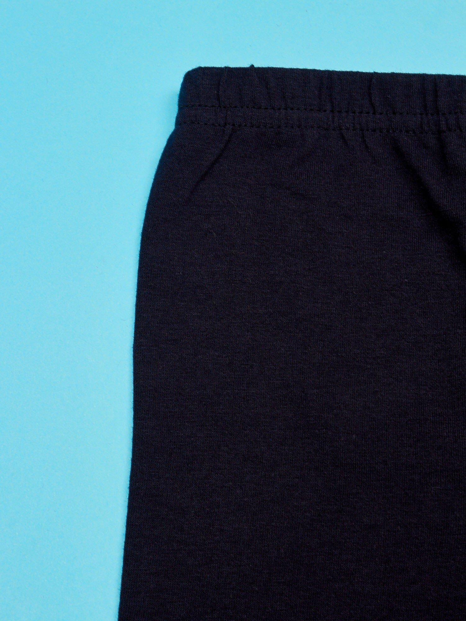 Czarne legginsy dla dziewczynki motyw MY LITTLE PONY                                   zdj.                                  3