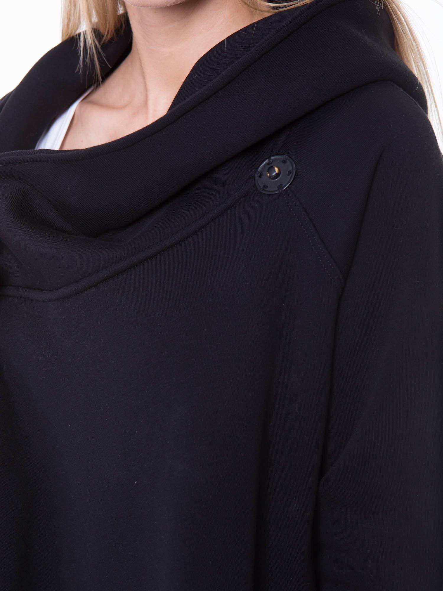 Czarny płaszcz dresowy                                  zdj.                                  10