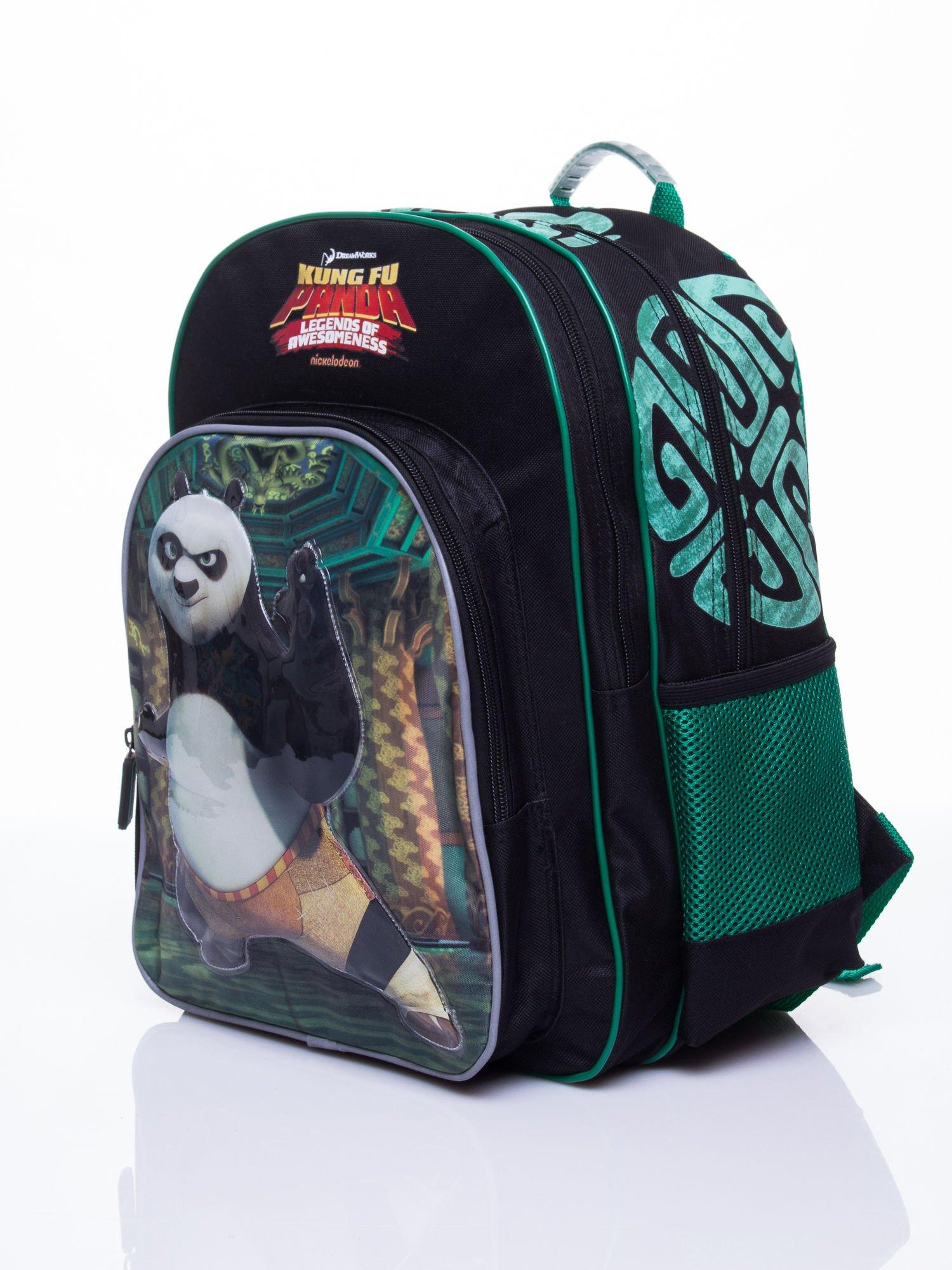 Czarny plecak szkolny DISNEY Kung Fu Panda                                  zdj.                                  2