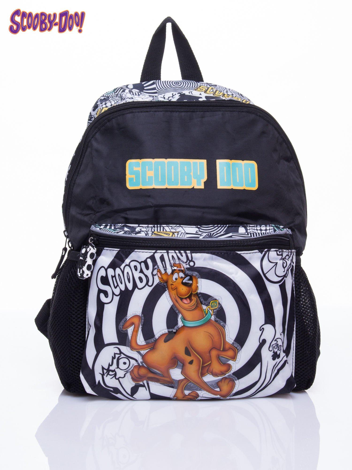 Czarny plecak szkolny DISNEY Scooby Doo                                  zdj.                                  1