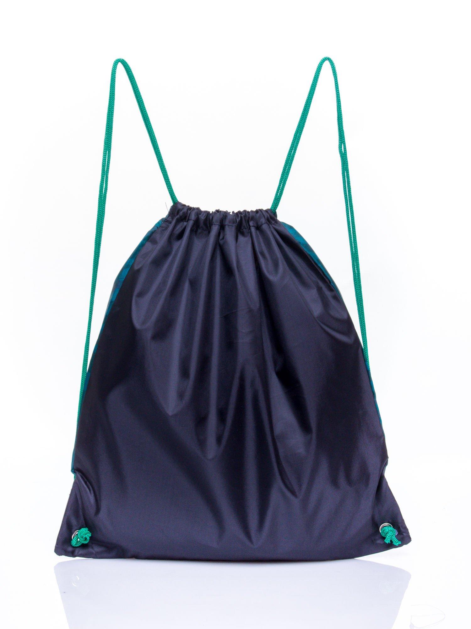Czarny plecak worek DISNEY Kung Fu Panda                                  zdj.                                  2