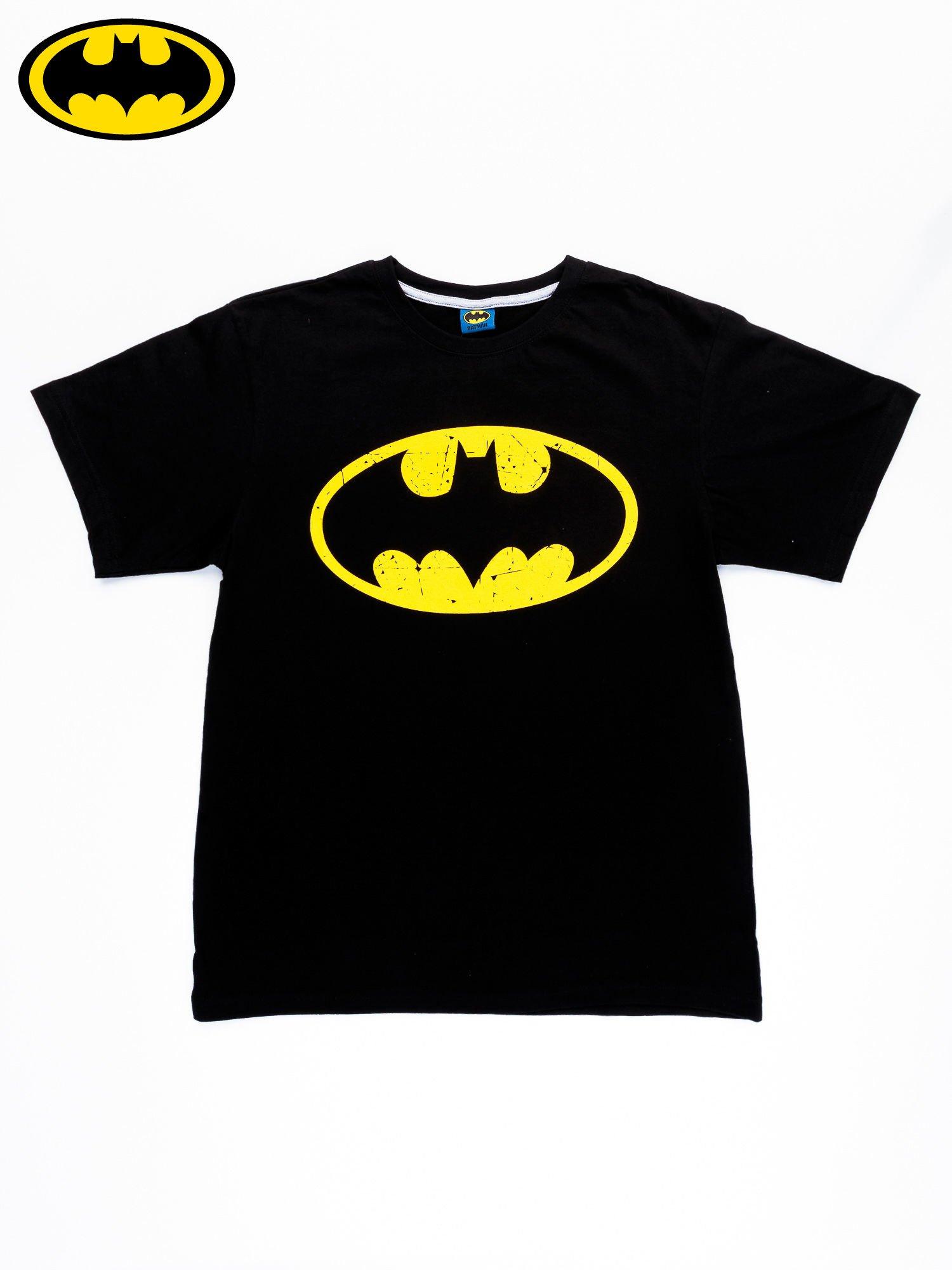 Czarny t-shirt męski BATMAN                                  zdj.                                  10