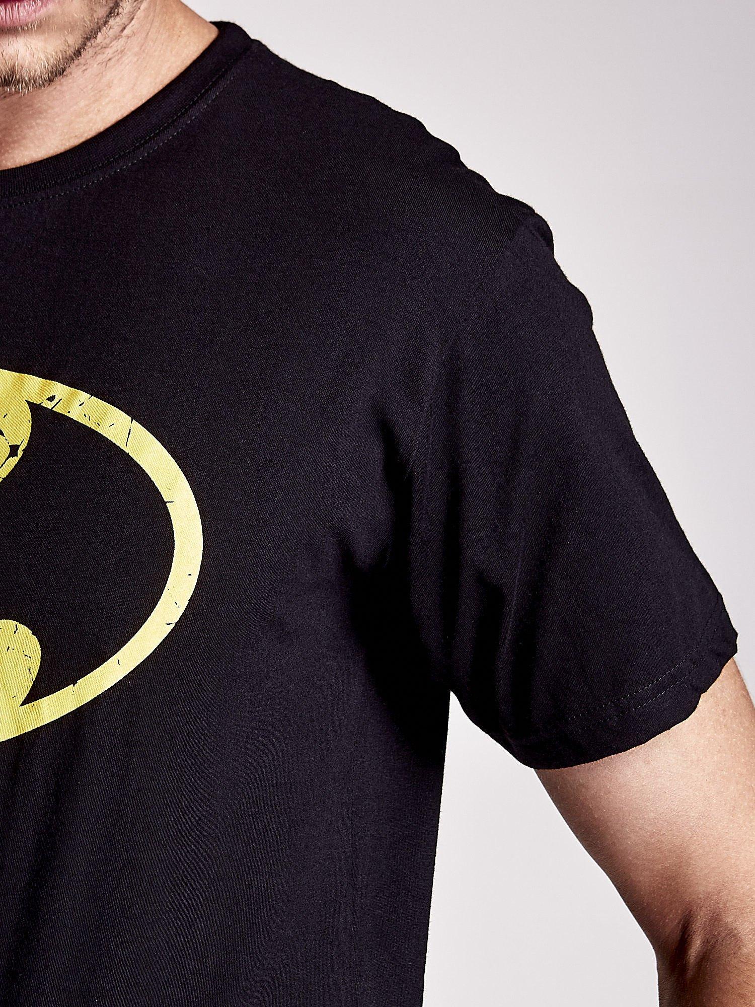 Czarny t-shirt męski BATMAN                                  zdj.                                  8