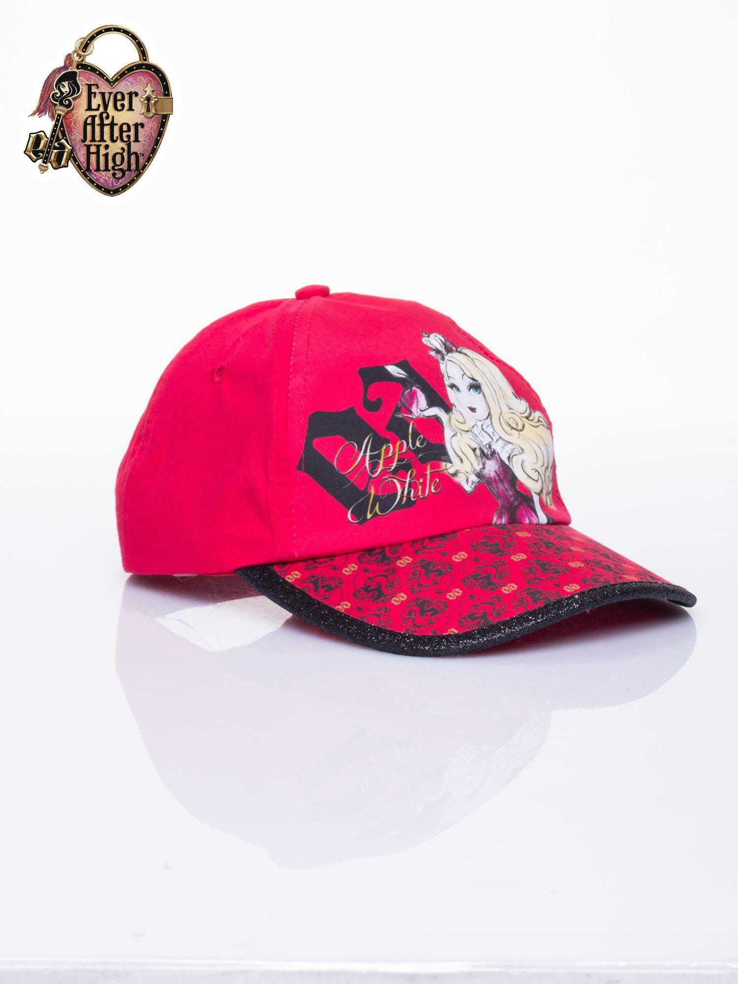 Czerwona czapka z daszkiem dla dziewczynki EVER AFTER HIGH                                  zdj.                                  2