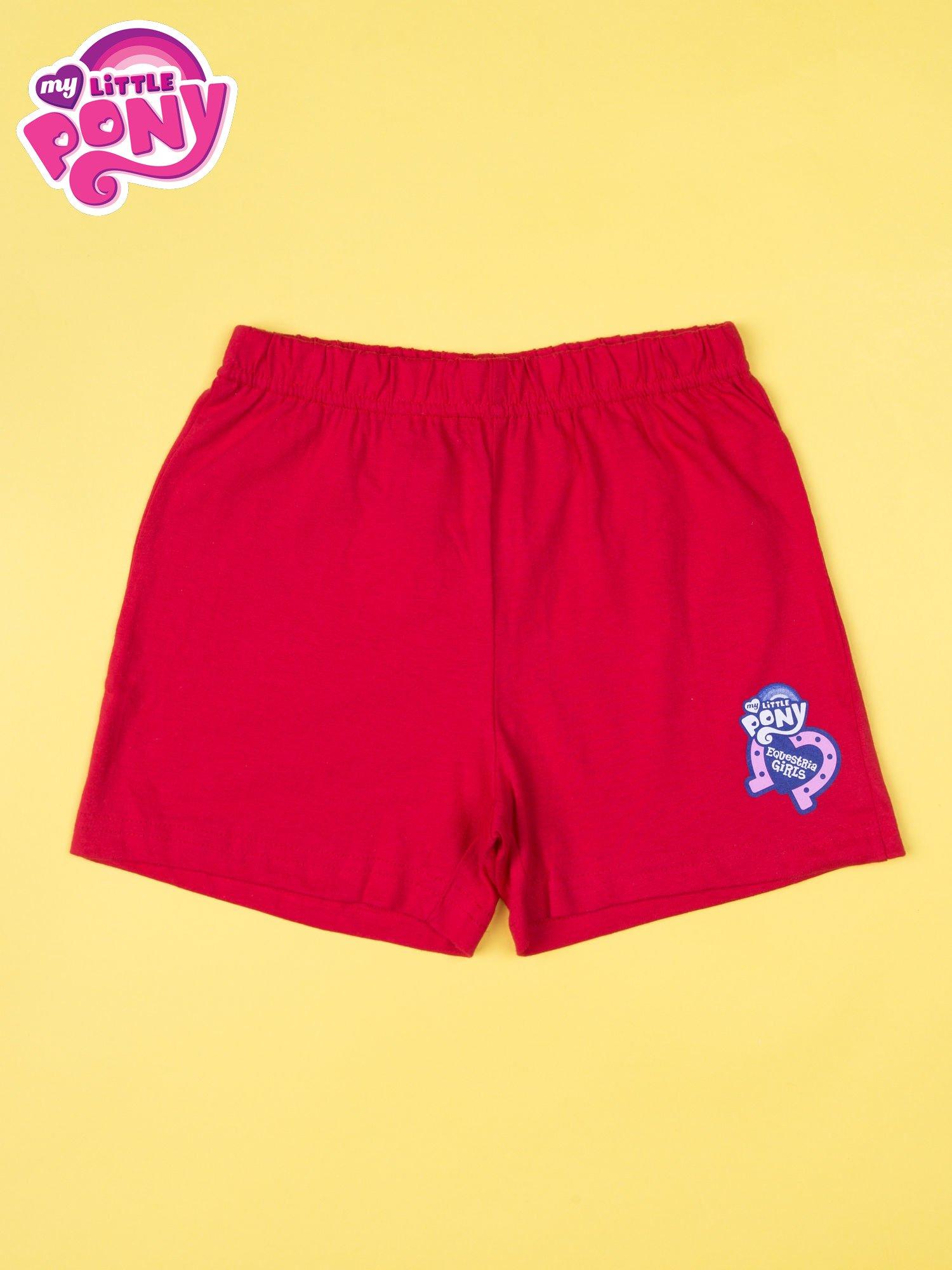 Czerwona piżama dla dziewczynki MY LITTLE PONY                                  zdj.                                  4