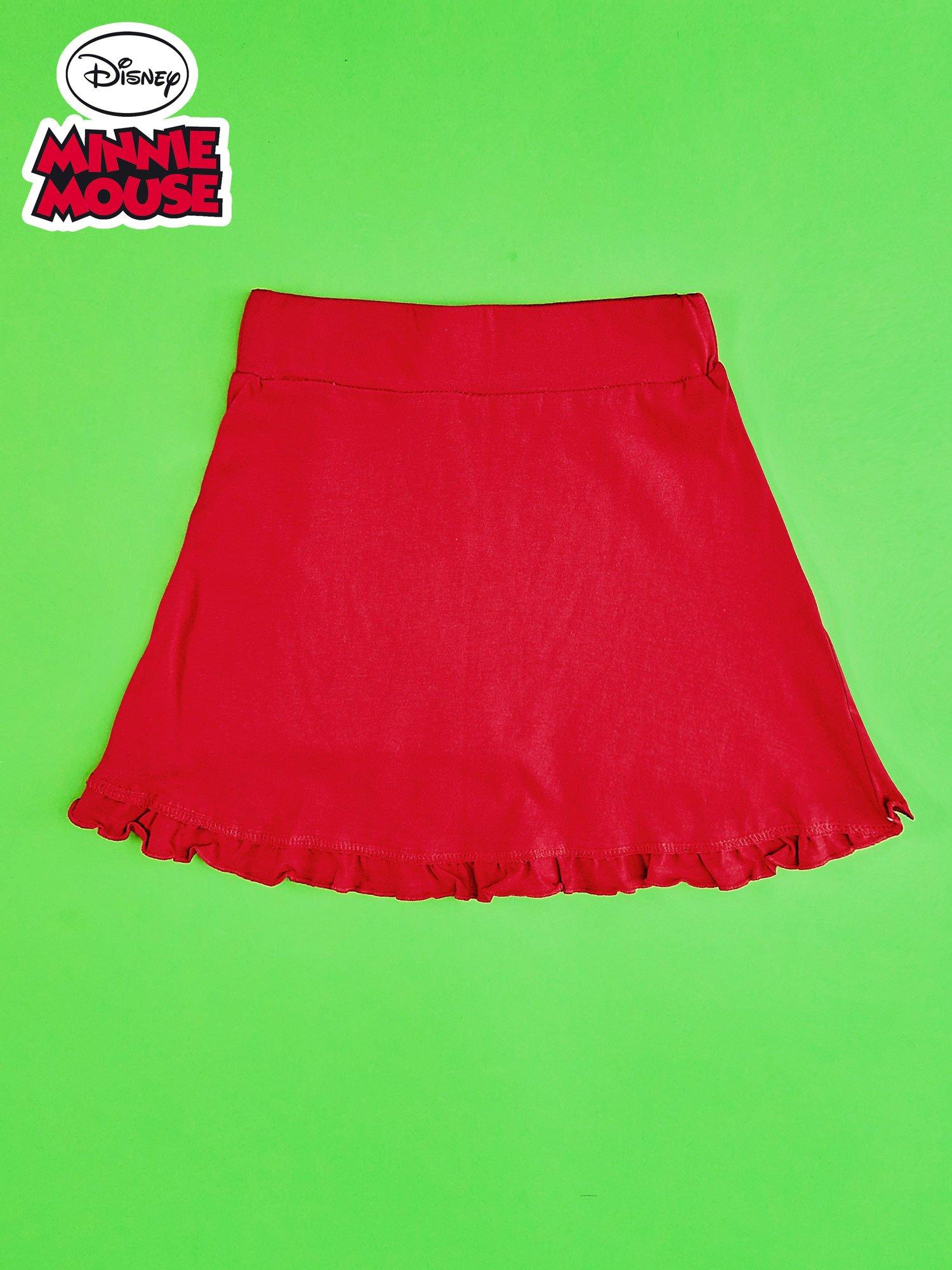 Czerwona spódnica dla dziewczynki MINNIE MOUSE                                  zdj.                                  2