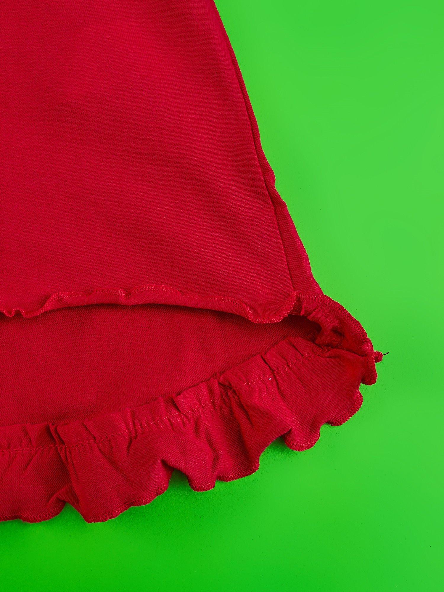 Czerwona spódnica dla dziewczynki MINNIE MOUSE                                  zdj.                                  4