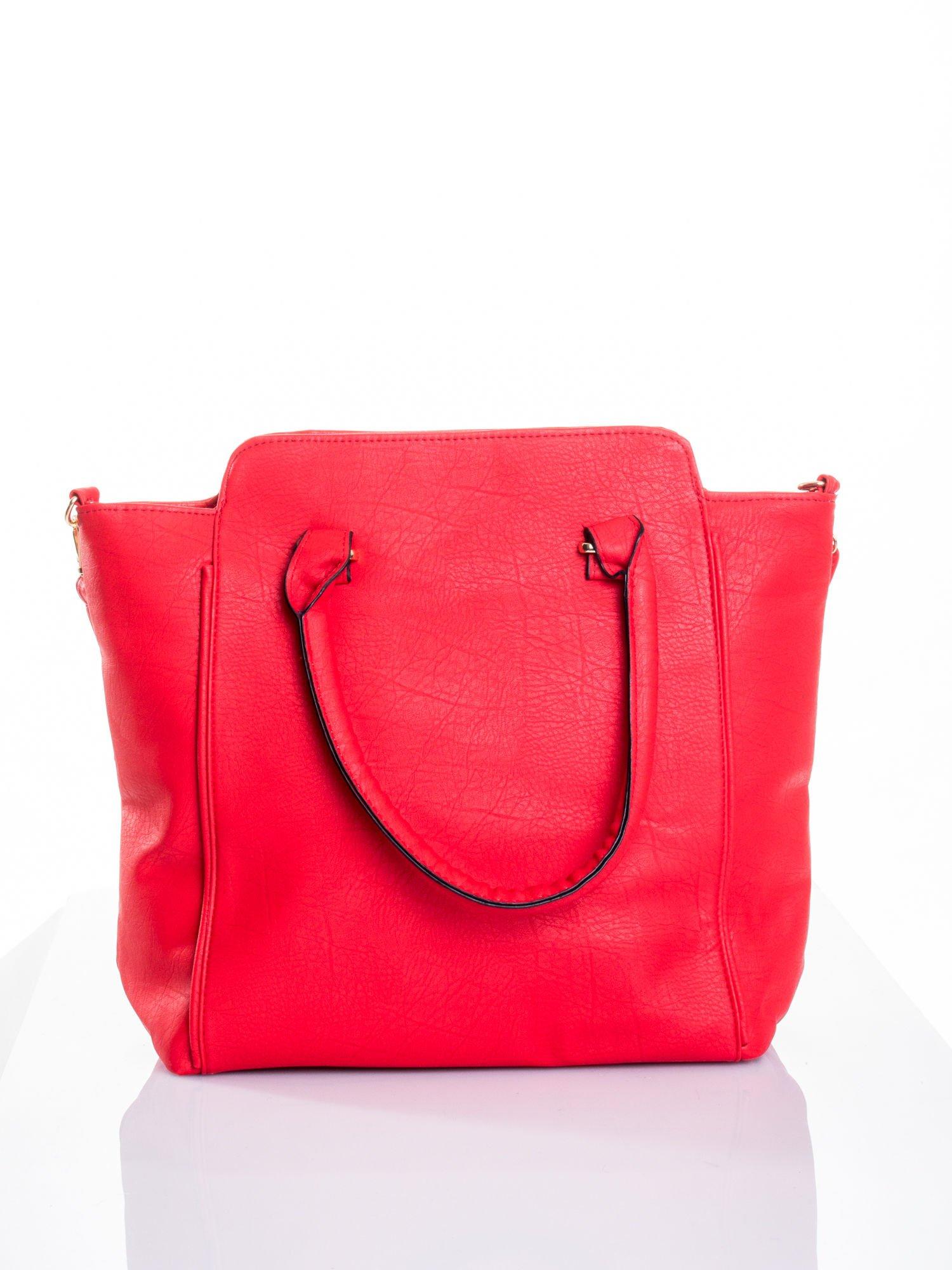 Czerwona torba shopper bag                                  zdj.                                  1