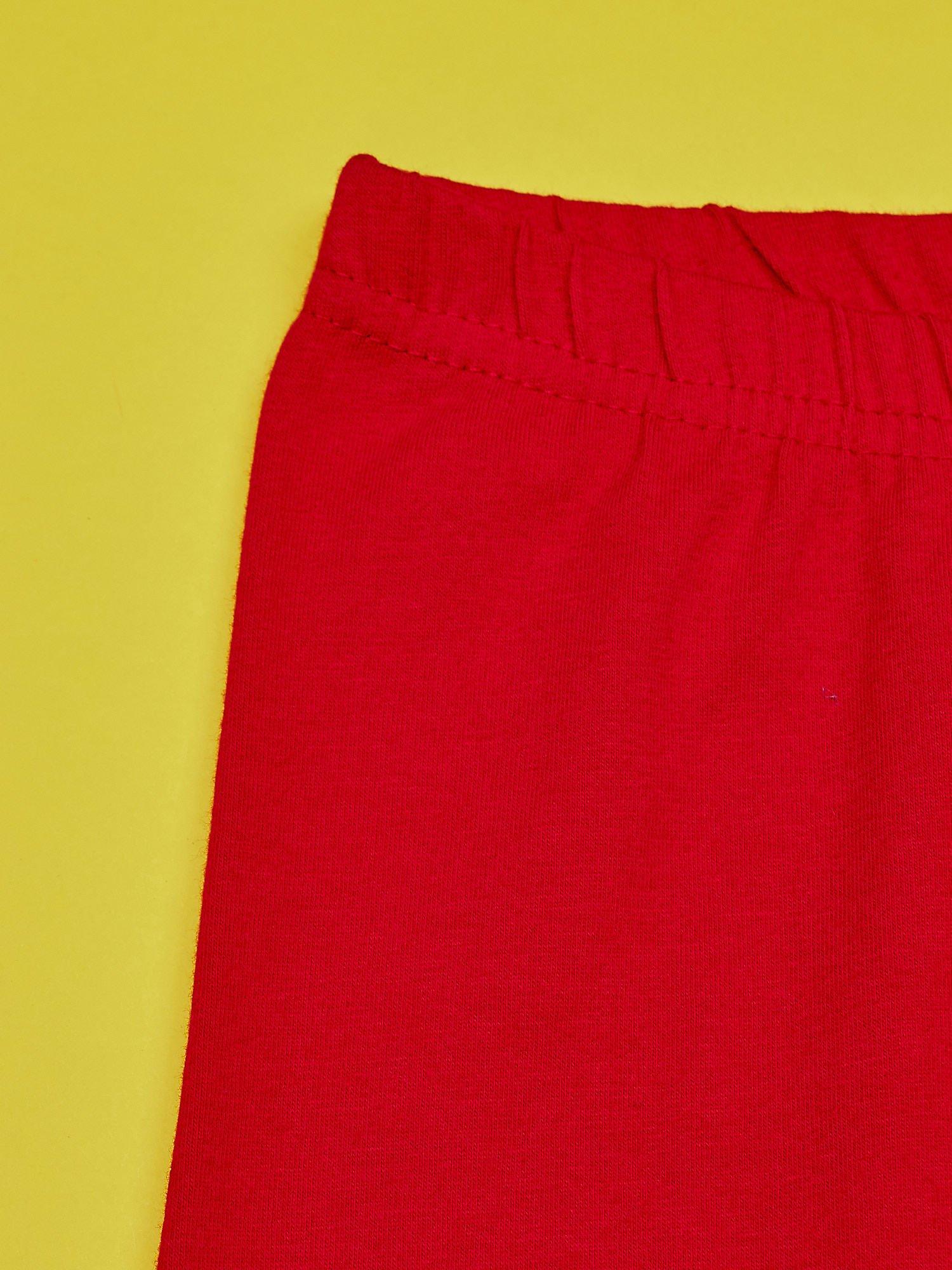 Czerwone legginsy dla dziewczynki z motywem MY LITTLE PONY                                  zdj.                                  4