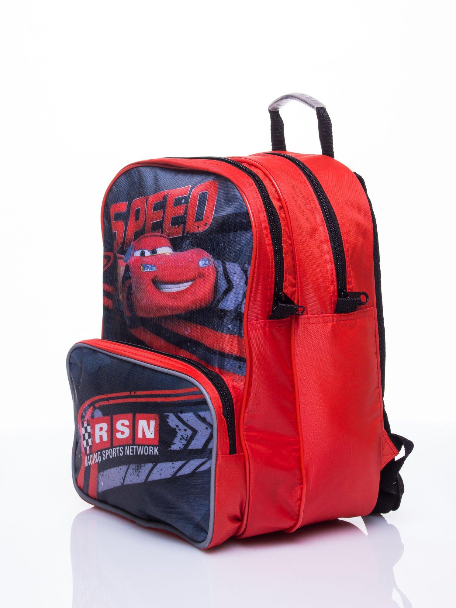 Czerwony plecak szkolny PIXAR Auta                                  zdj.                                  2