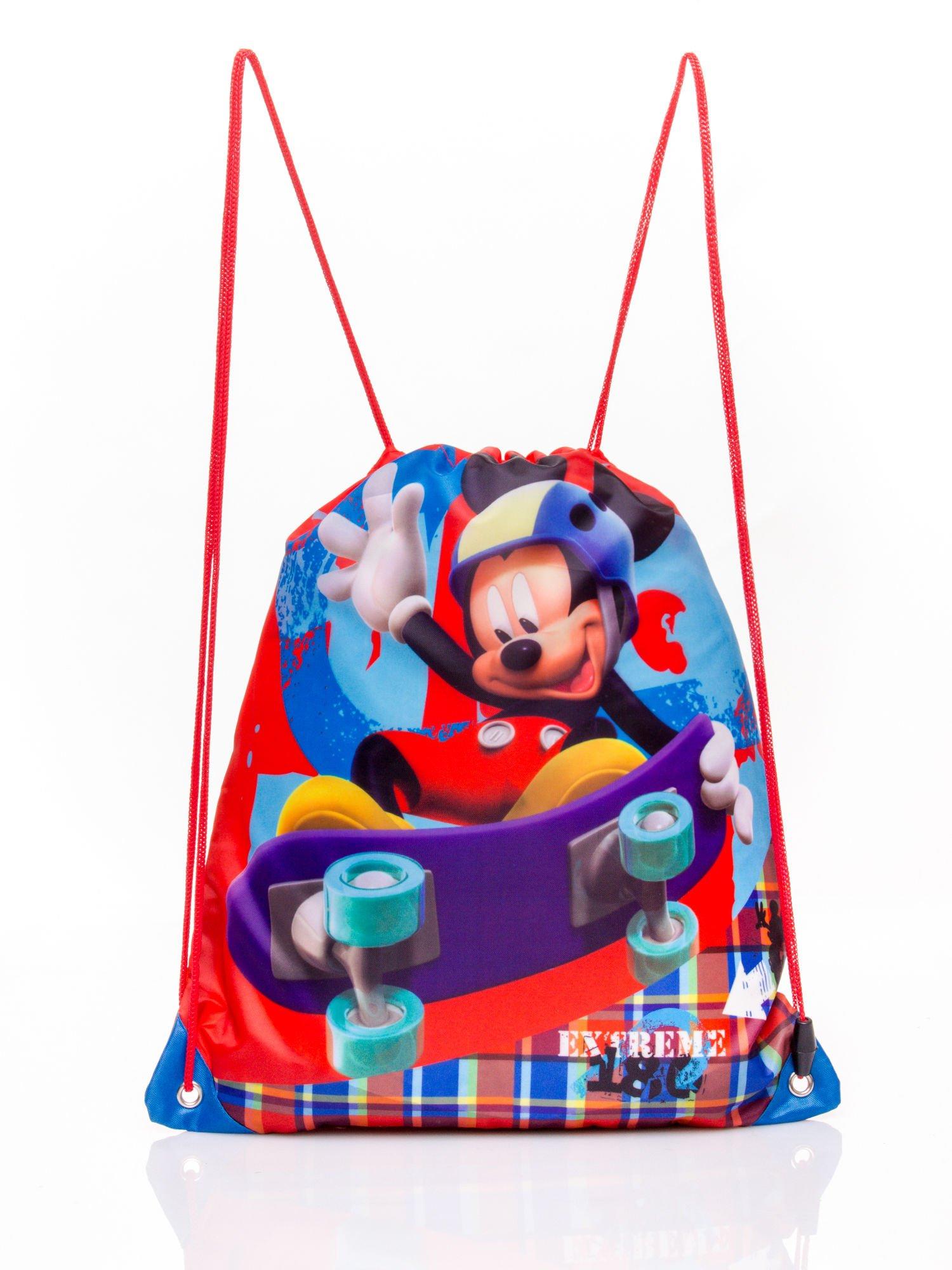 Czerwony plecak worek DISNEY Myszka Miki                                  zdj.                                  1