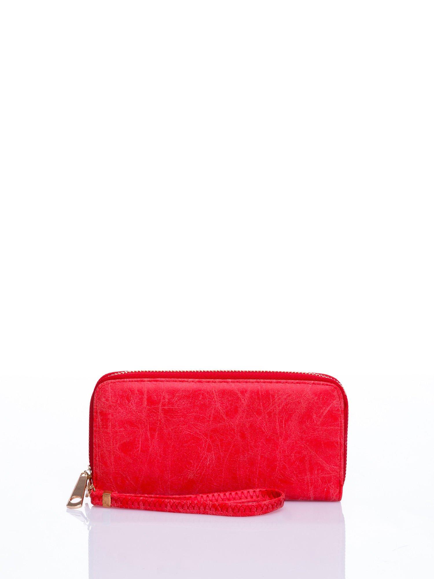 Czerwony portfel z rączką                                  zdj.                                  1