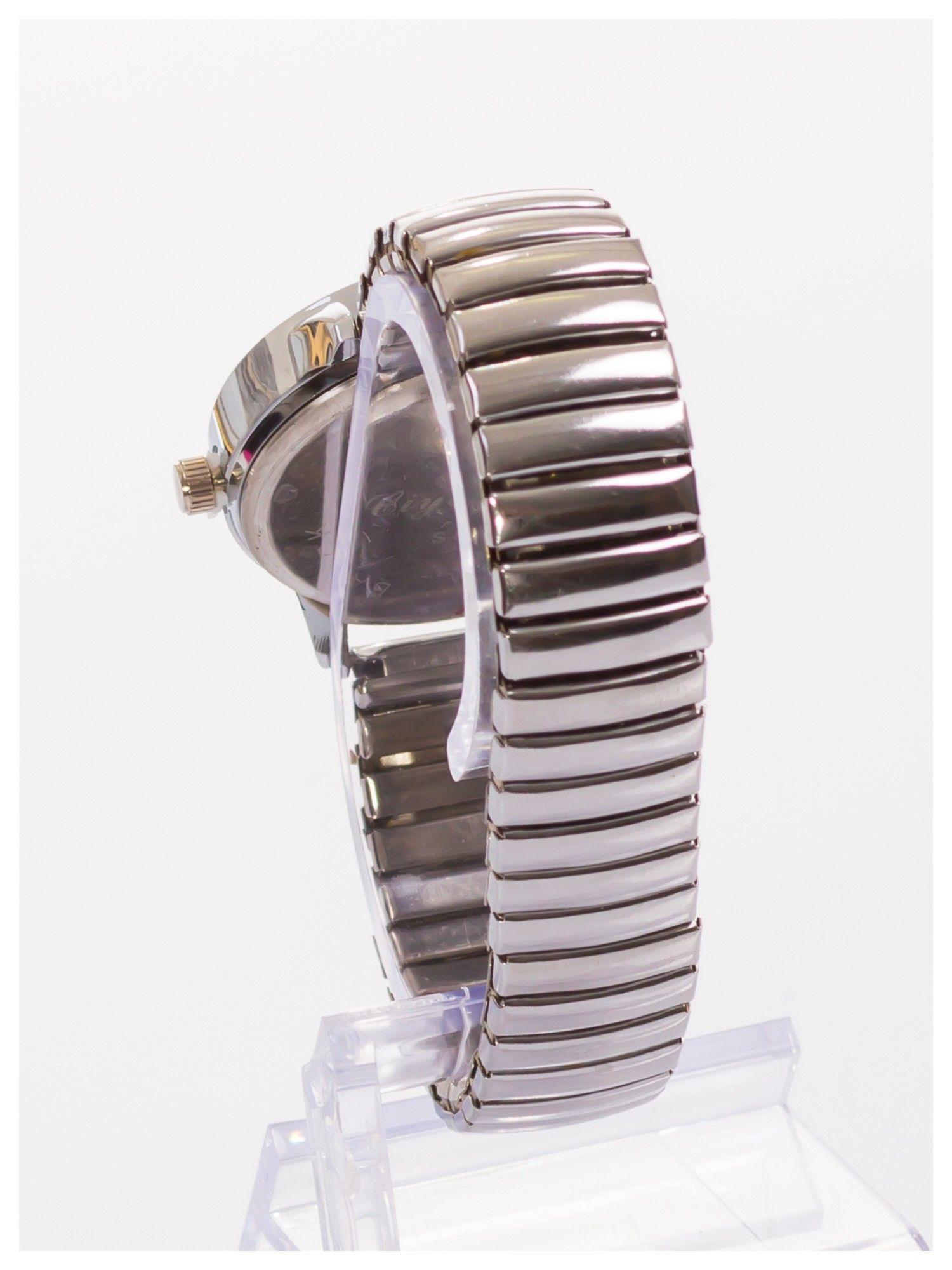 Damski zegarek na elastycznej bransolecie Bardzo kobiecy. Mała tarcza. Delikatny.                                  zdj.                                  4