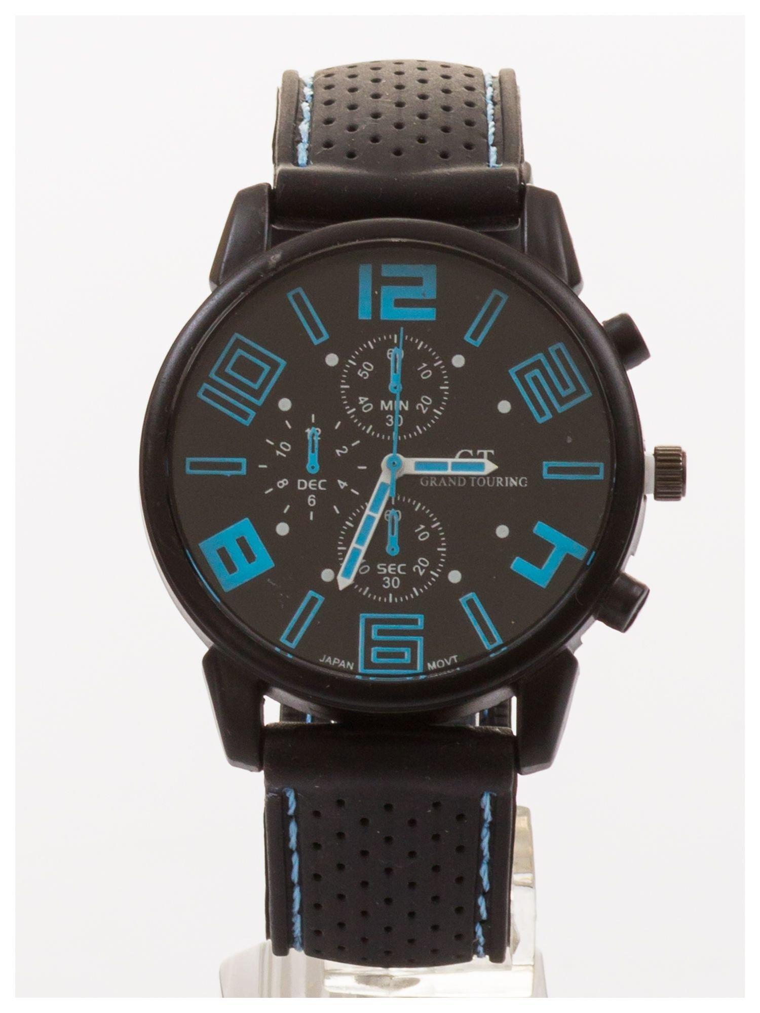 Dla Niego... Świetny sportowy zegarek inspirowany wyścigami GT - duży                                  zdj.                                  3