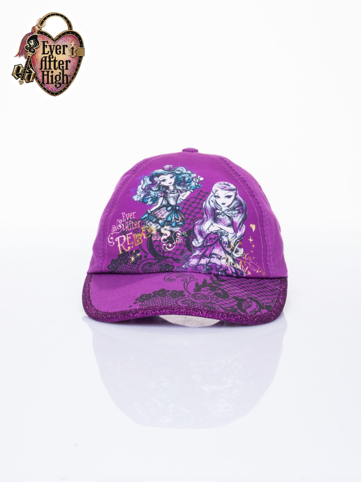 Fioletowa czapka z daszkiem dla dziewczynki EVER AFTER HIGH                                  zdj.                                  1