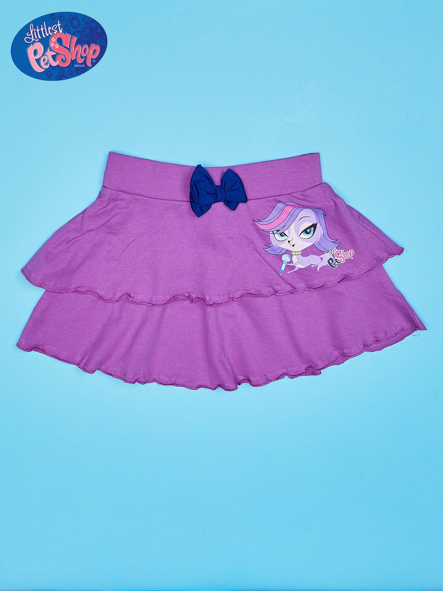 Fioletowa spódnica dla dziewczynki LITTLEST PET SHOP                                  zdj.                                  1