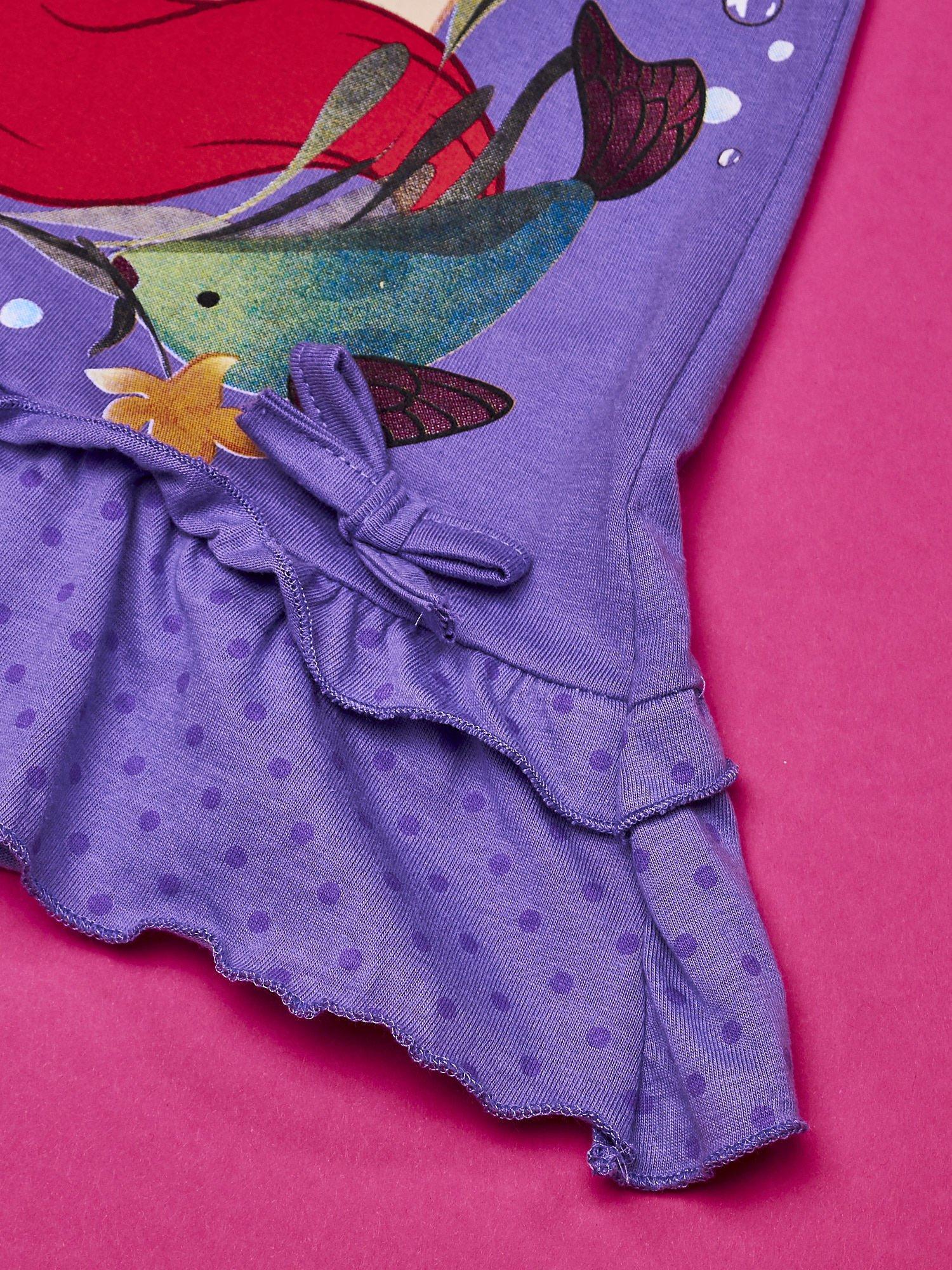 Fioletowa tunika dla dziewczynki MAŁA SYRENKA                                  zdj.                                  3