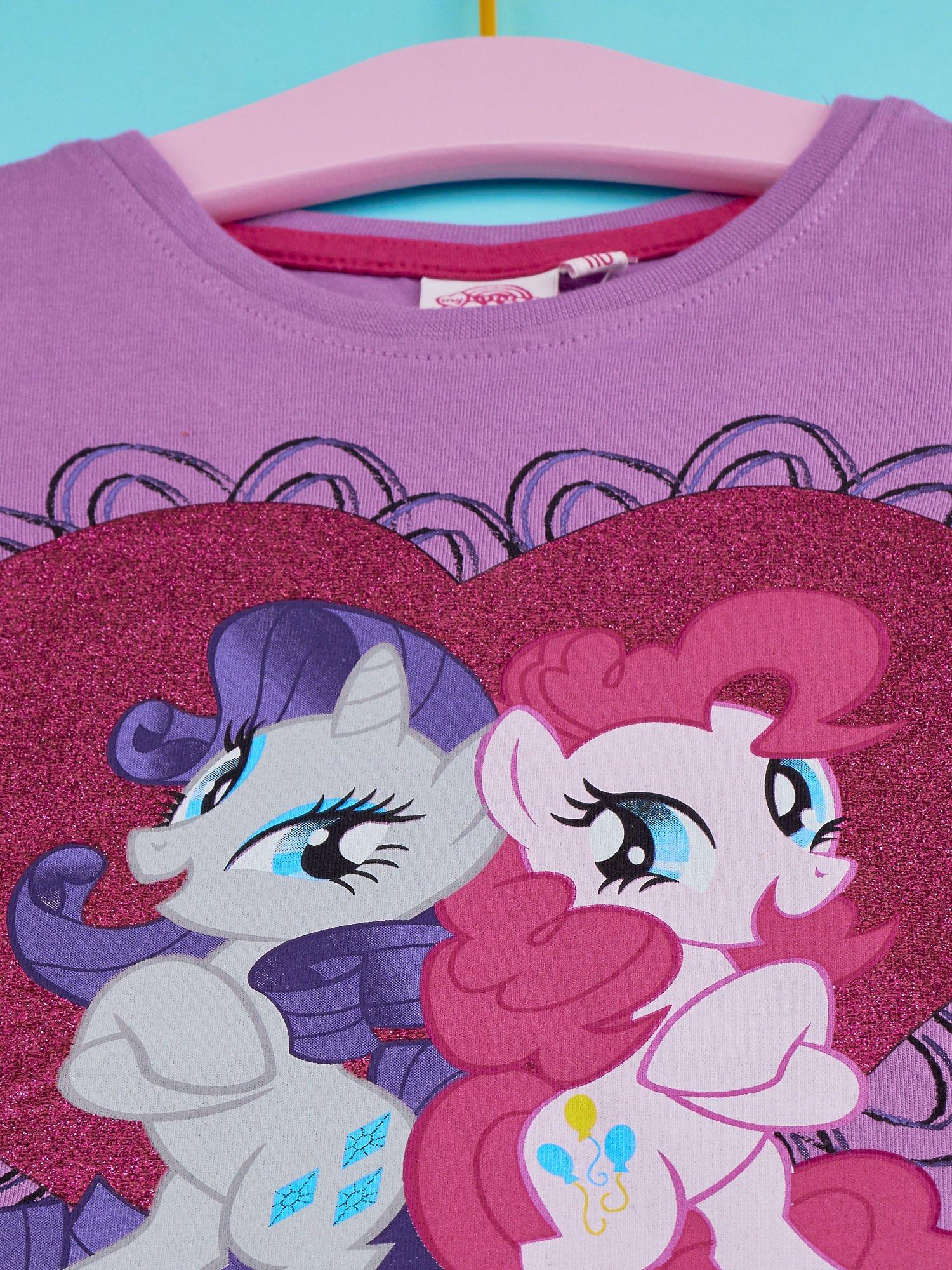 Fioletowy t-shirt dla dziewczynki MY LITTLE PONY                                  zdj.                                  4