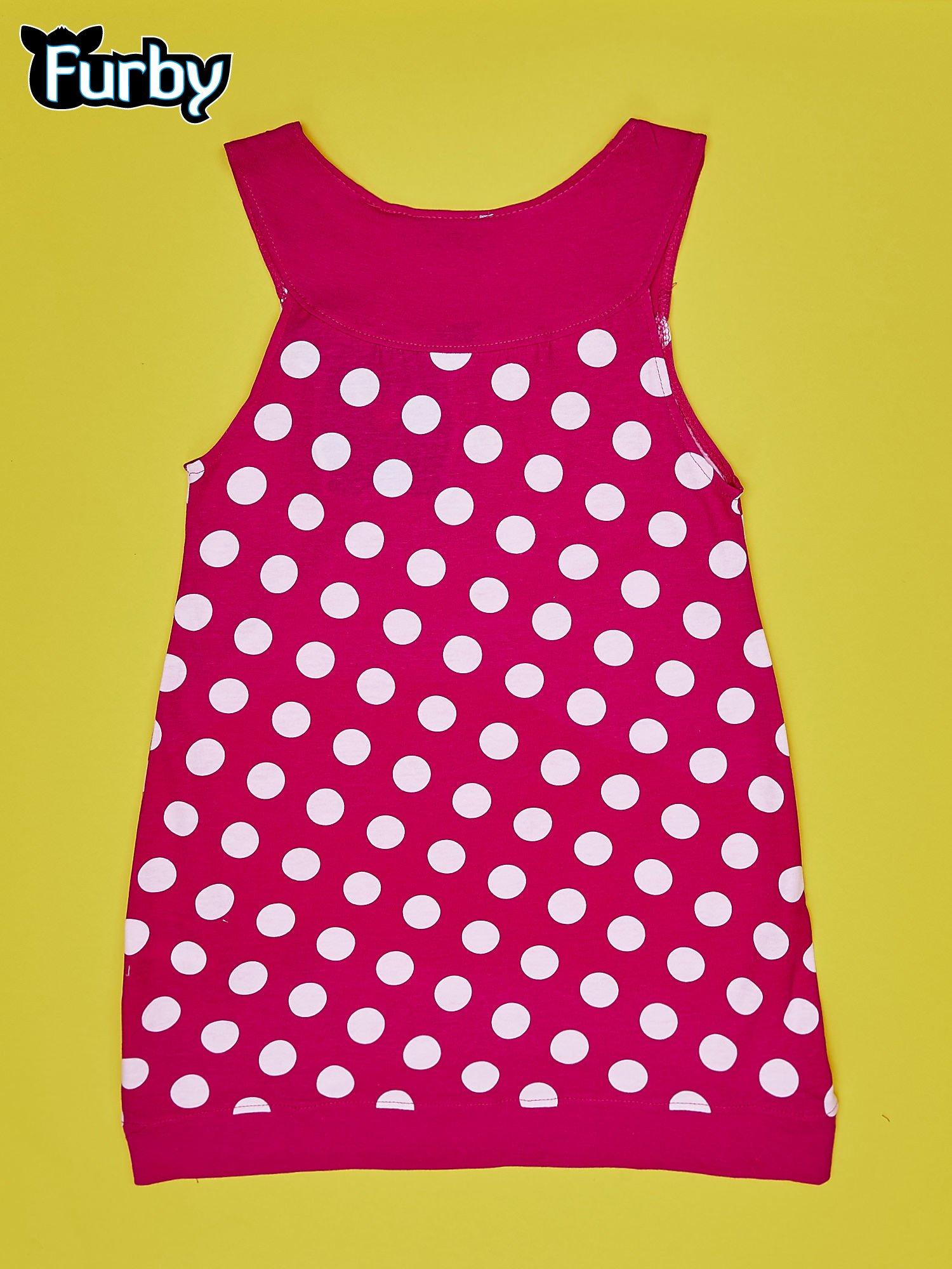 5b43a14ddf Fuksjowa sukienka w groszki dla dziewczynki FURBY - Dziecko Dziewczynka -  sklep eButik.pl