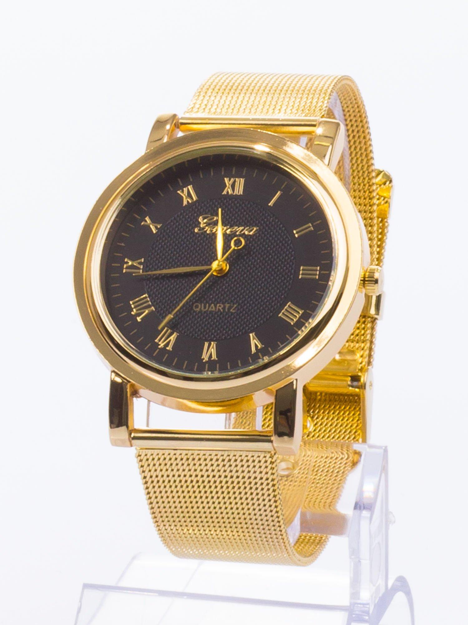 GENEVA Klasyczny zegarek Geneva metalowej bransolecie                                  zdj.                                  2