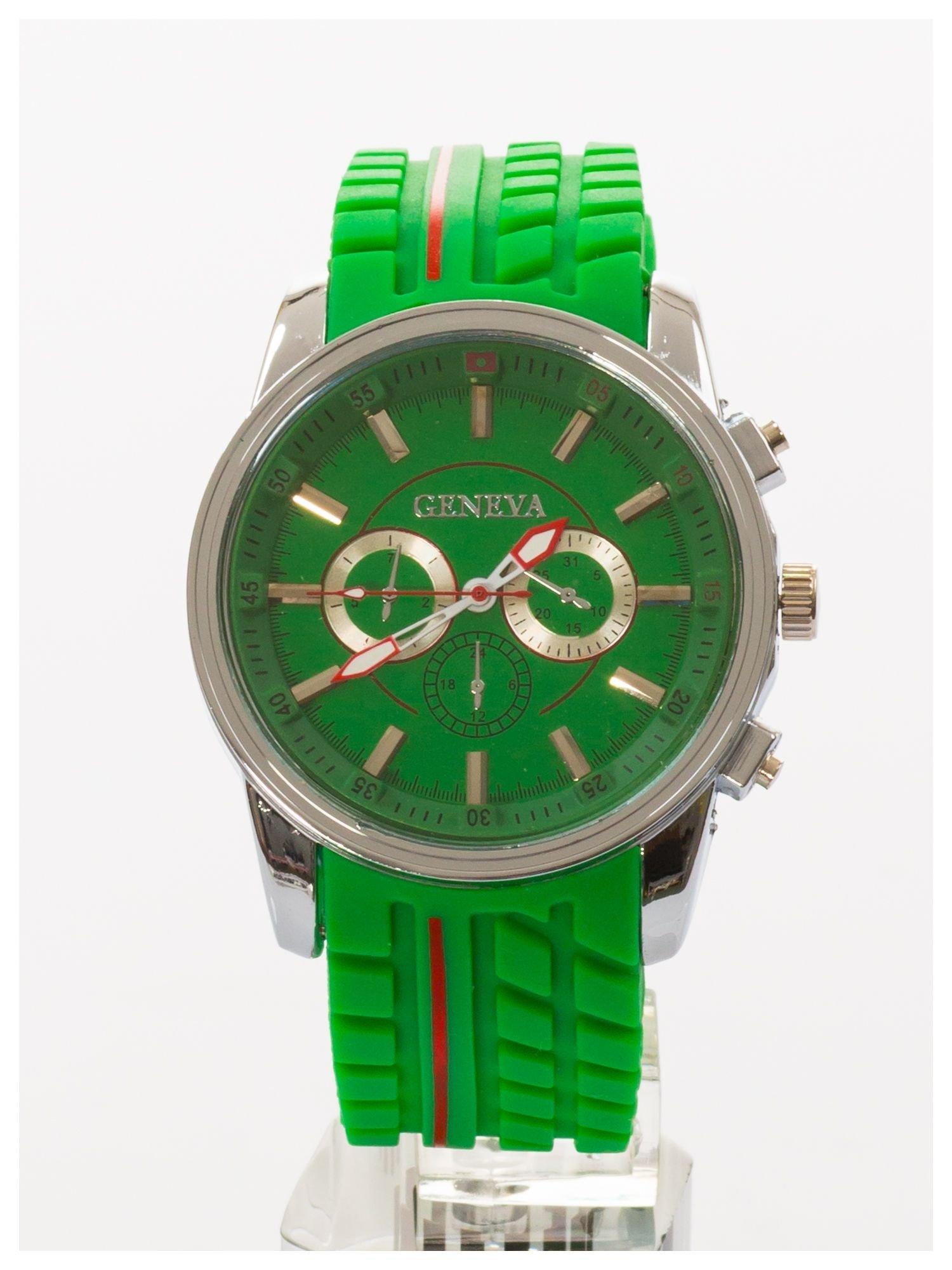 GENEVA Zielony zegarek męski MILITARY                                  zdj.                                  1