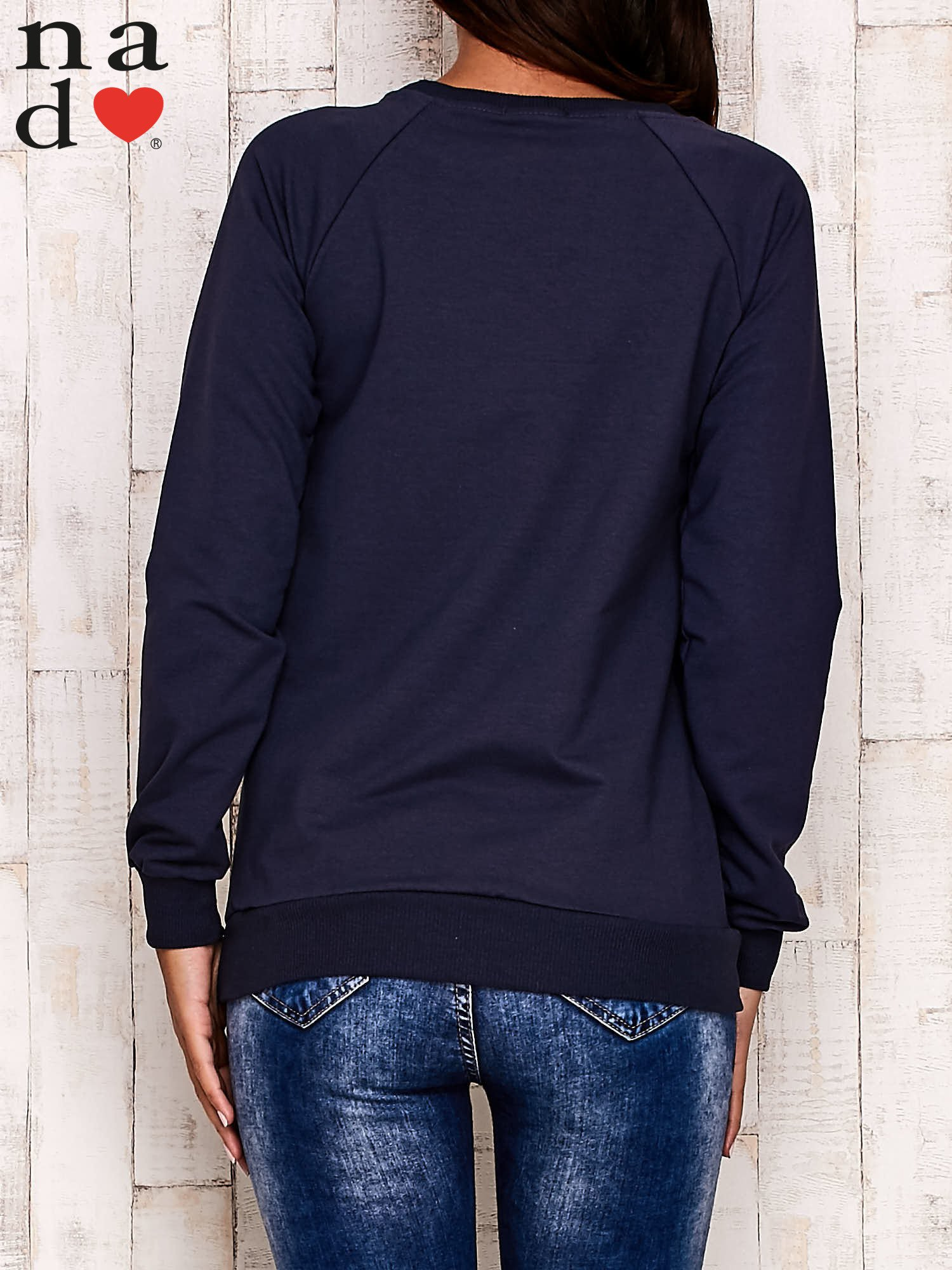 Grafitowa bluza z motywem Wieży Eiffla                                  zdj.                                  3