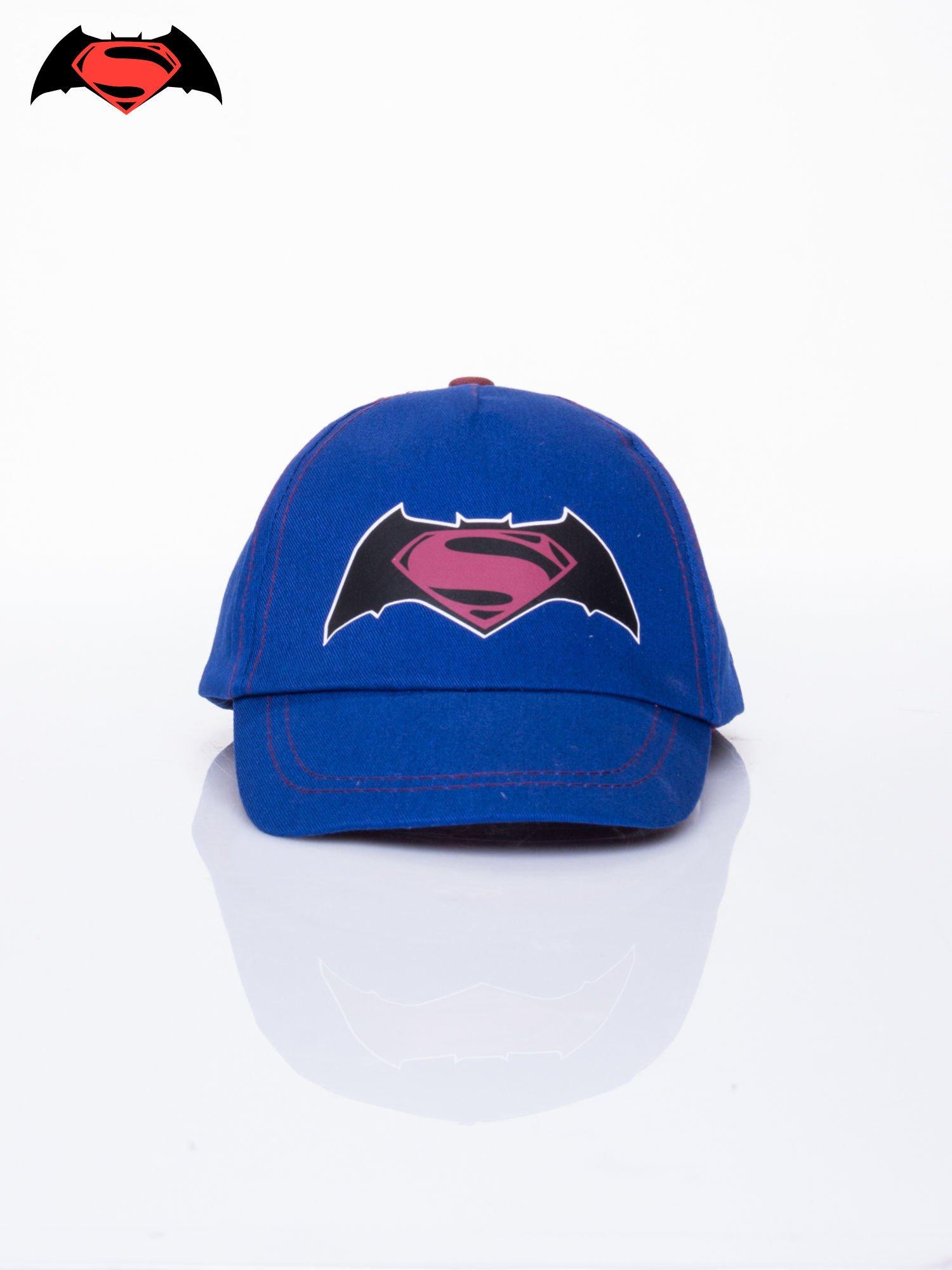 Granatowa chłopięca czapka z daszkiem BATMAN V SUPERMAN                                  zdj.                                  1