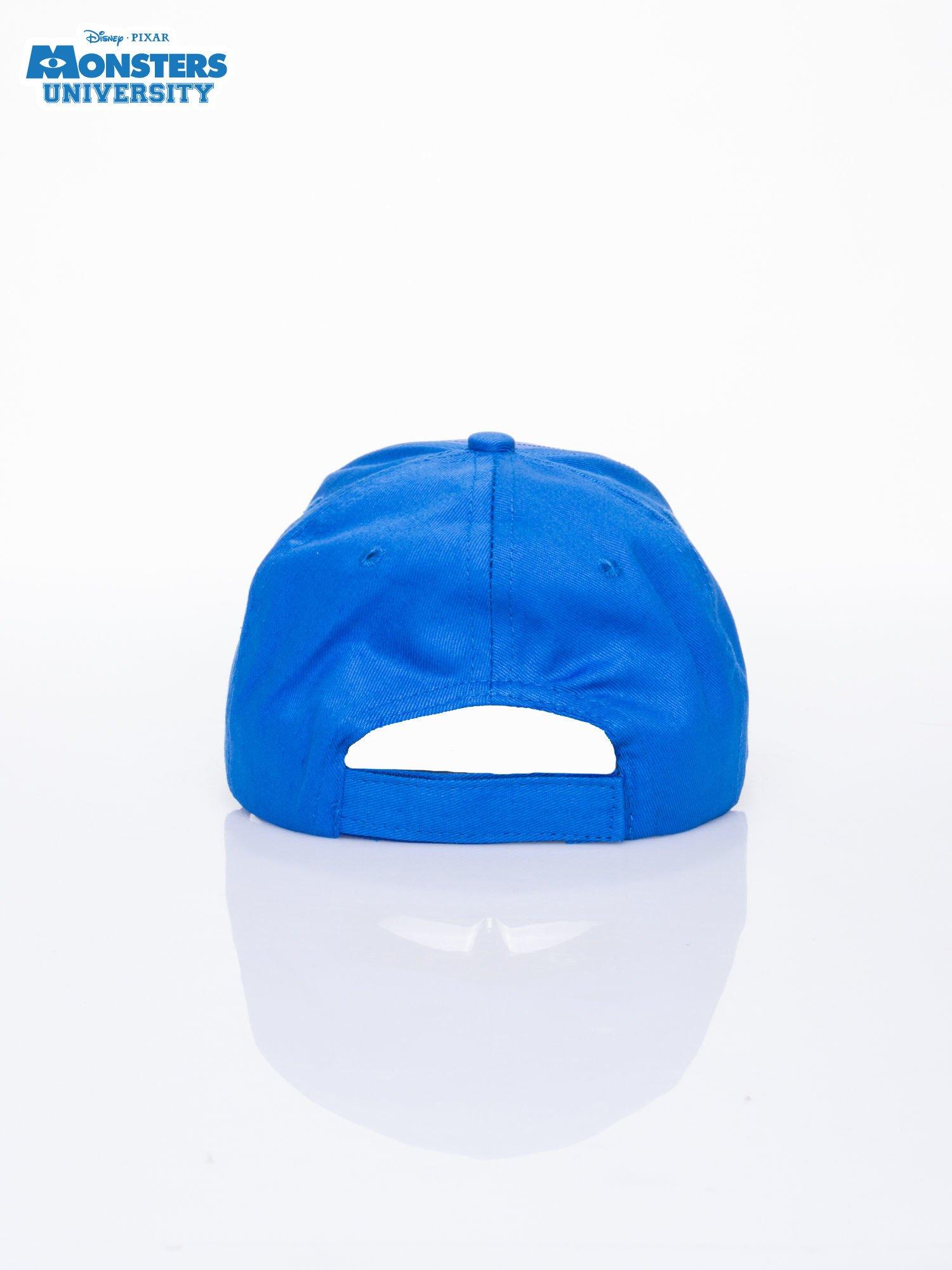 Granatowa chłopięca czapka z daszkiem UNIWERSYTET POTWORNY                                  zdj.                                  3