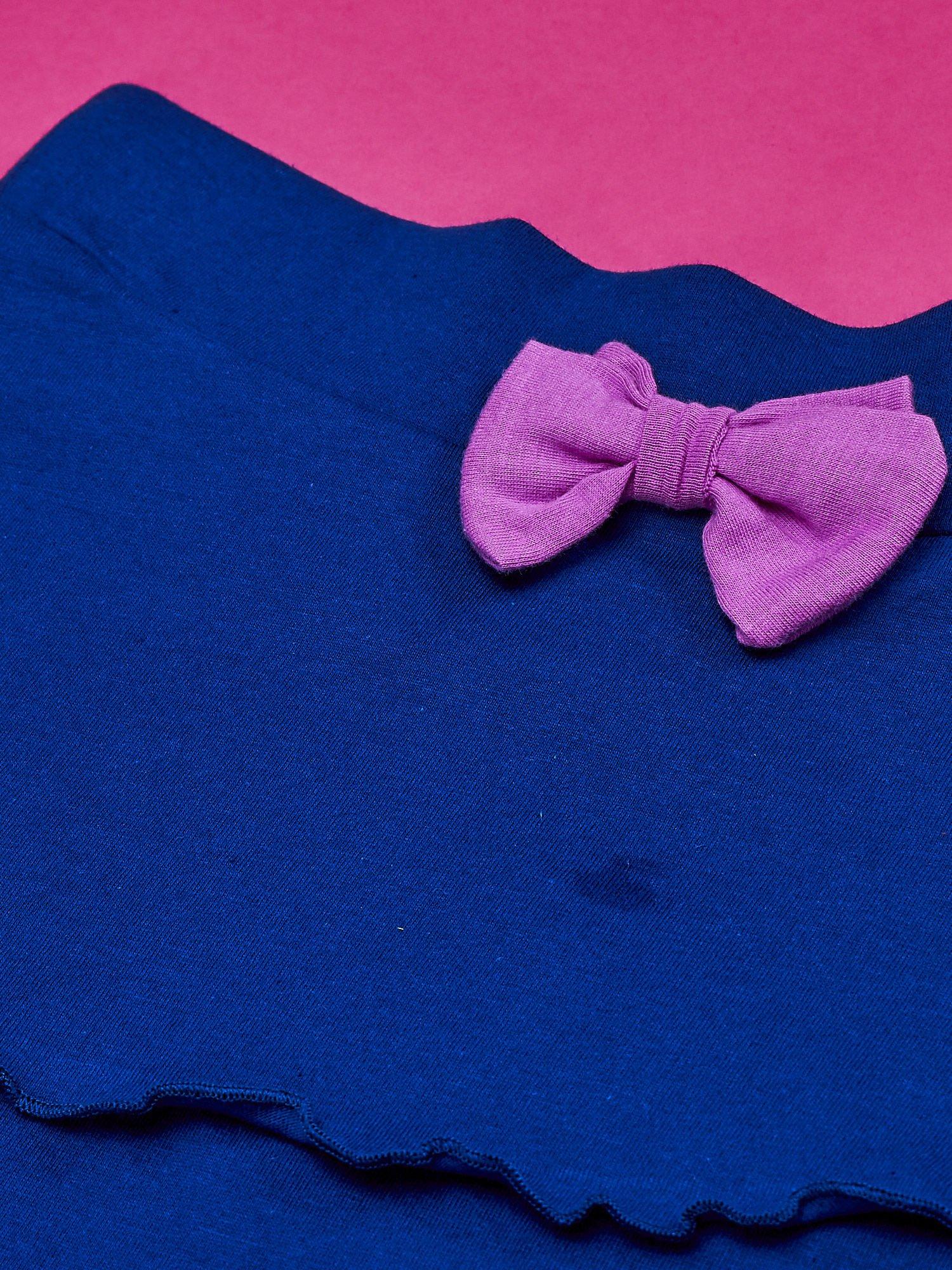 Granatowa spódnica dla dziewczynki LITTLEST PET SHOP                                  zdj.                                  4
