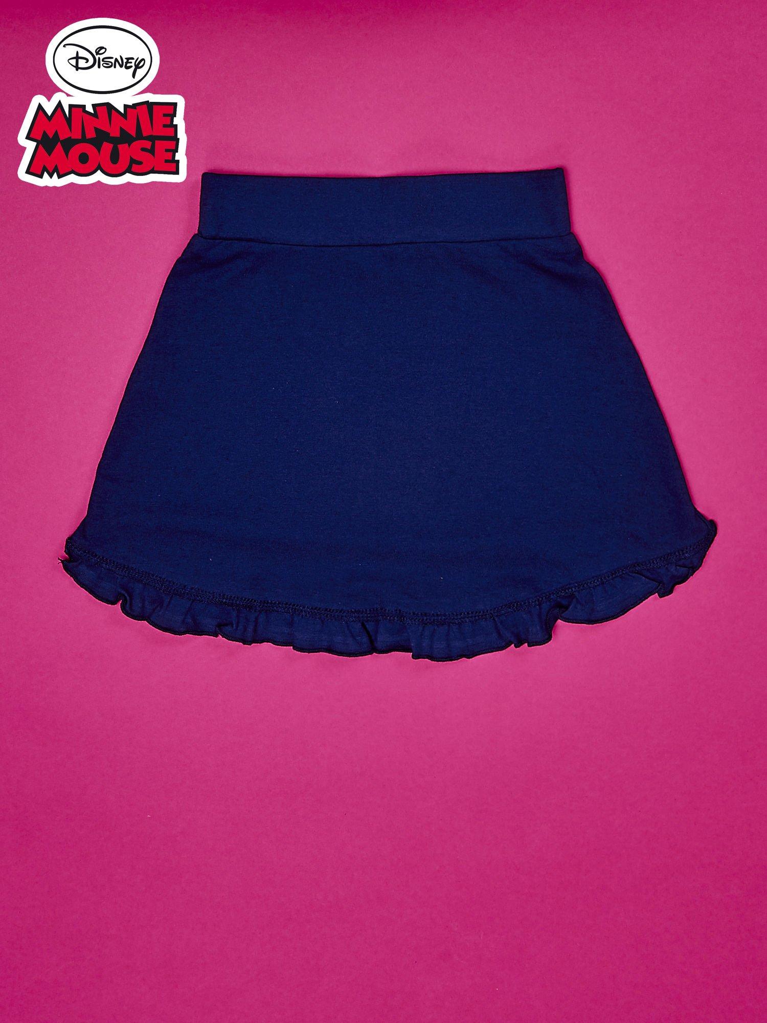 Granatowa spódnica dla dziewczynki MINNIE MOUSE                                  zdj.                                  2