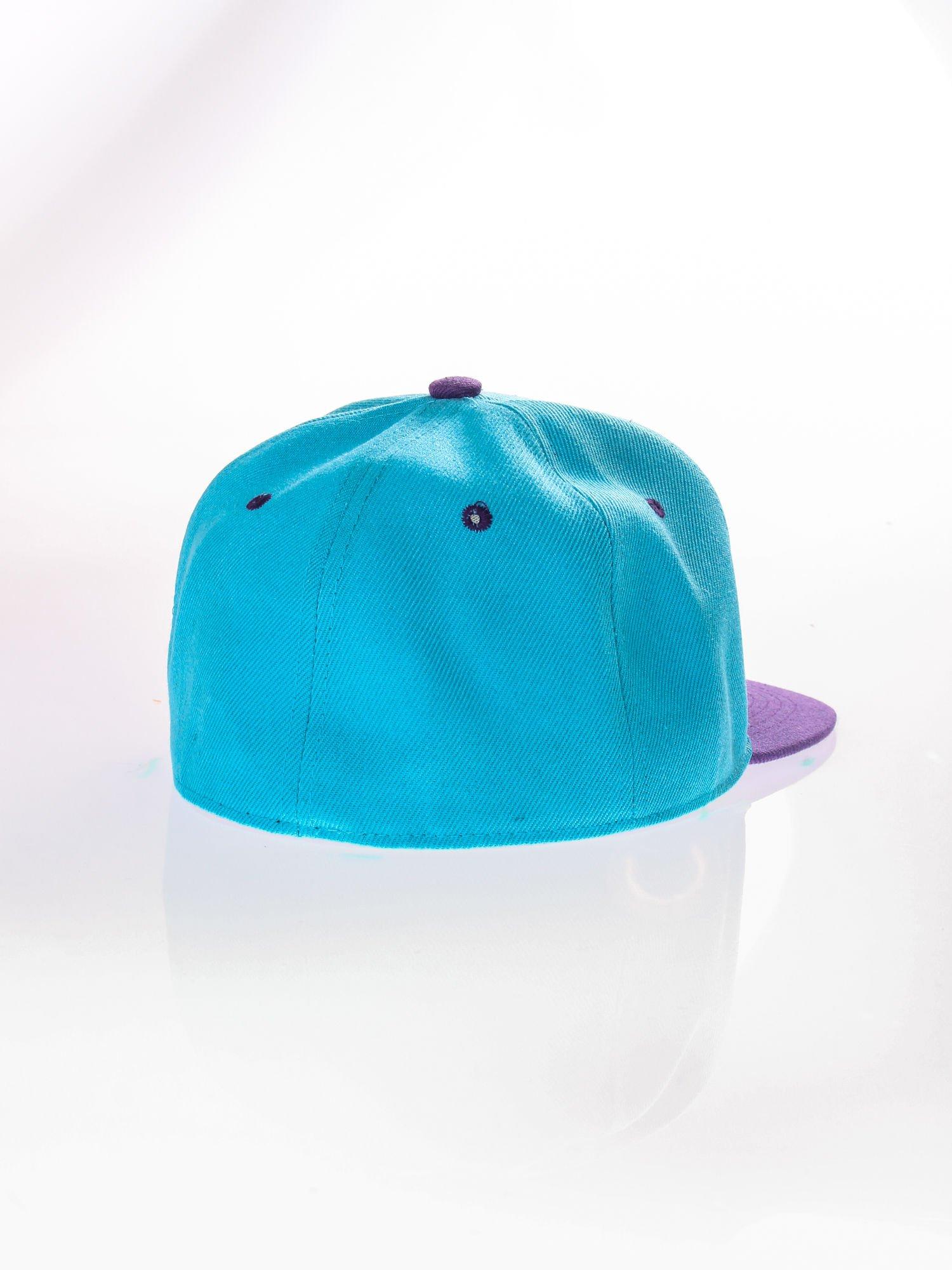 Jasnoniebieska czapka z daszkiem fullcap                                  zdj.                                  4