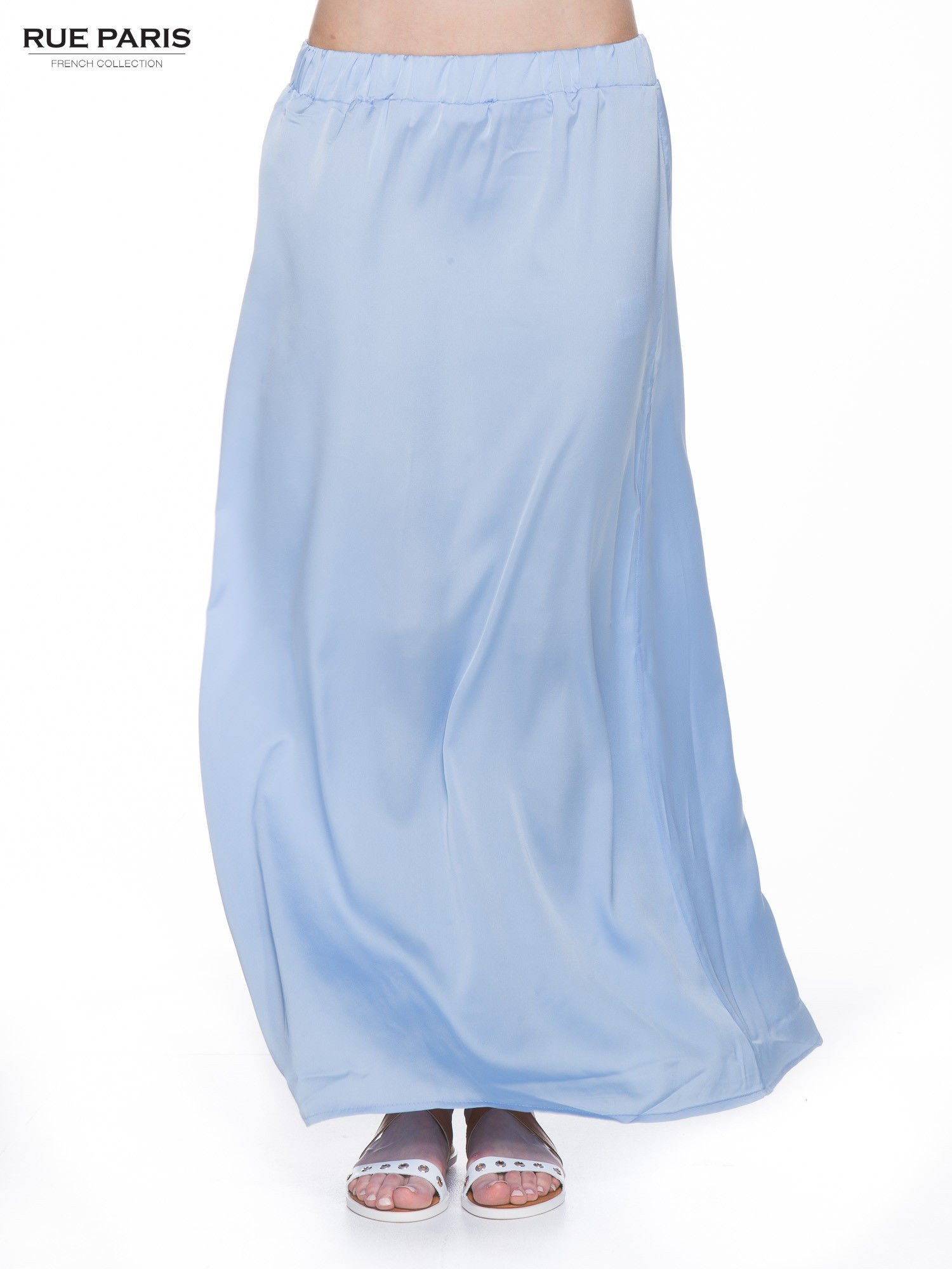 Jasnoniebieska długa spódnica maxi                                  zdj.                                  1