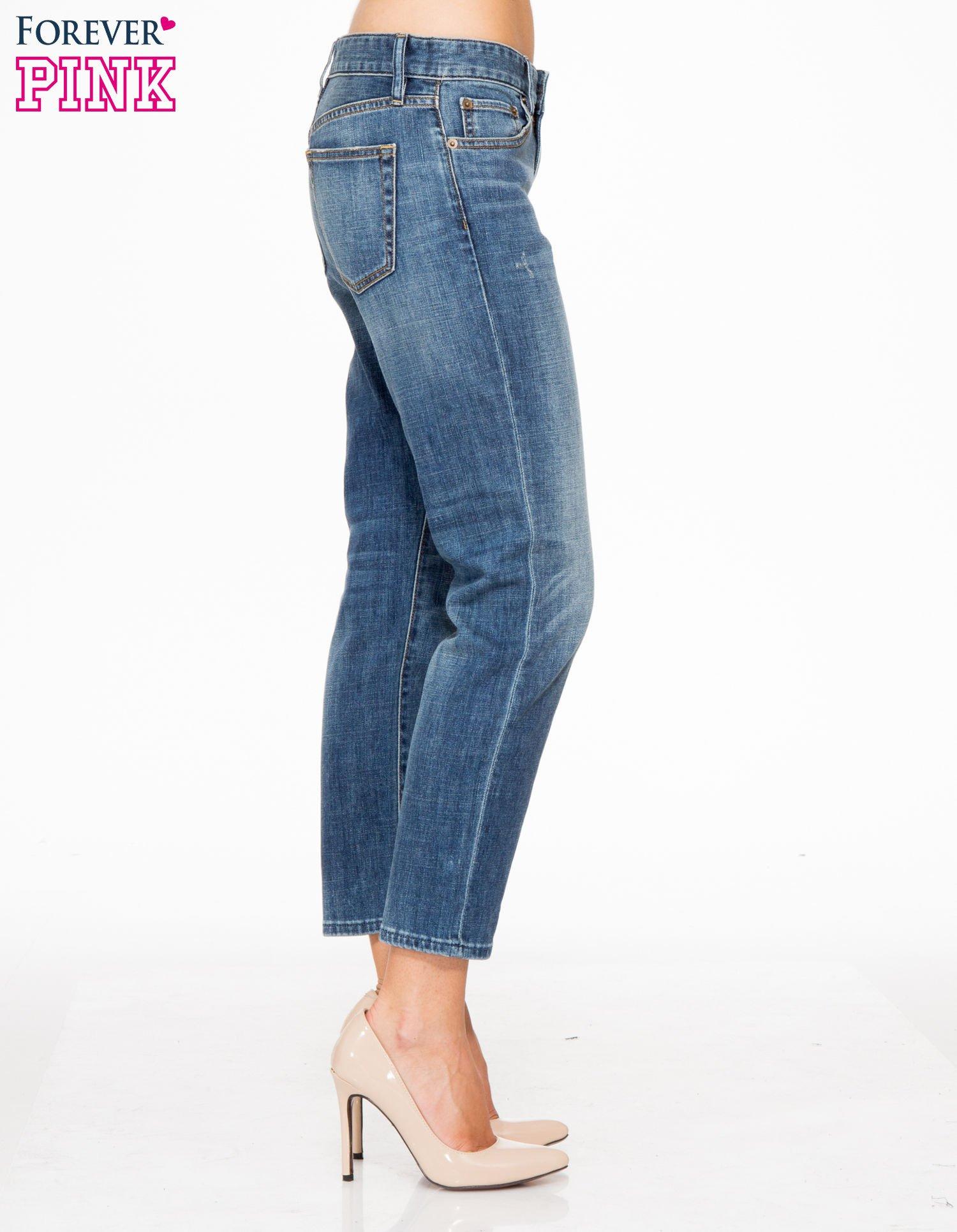 Jasnoniebieskie spodnie girlfriend jeans z cieniowaniem                                  zdj.                                  3