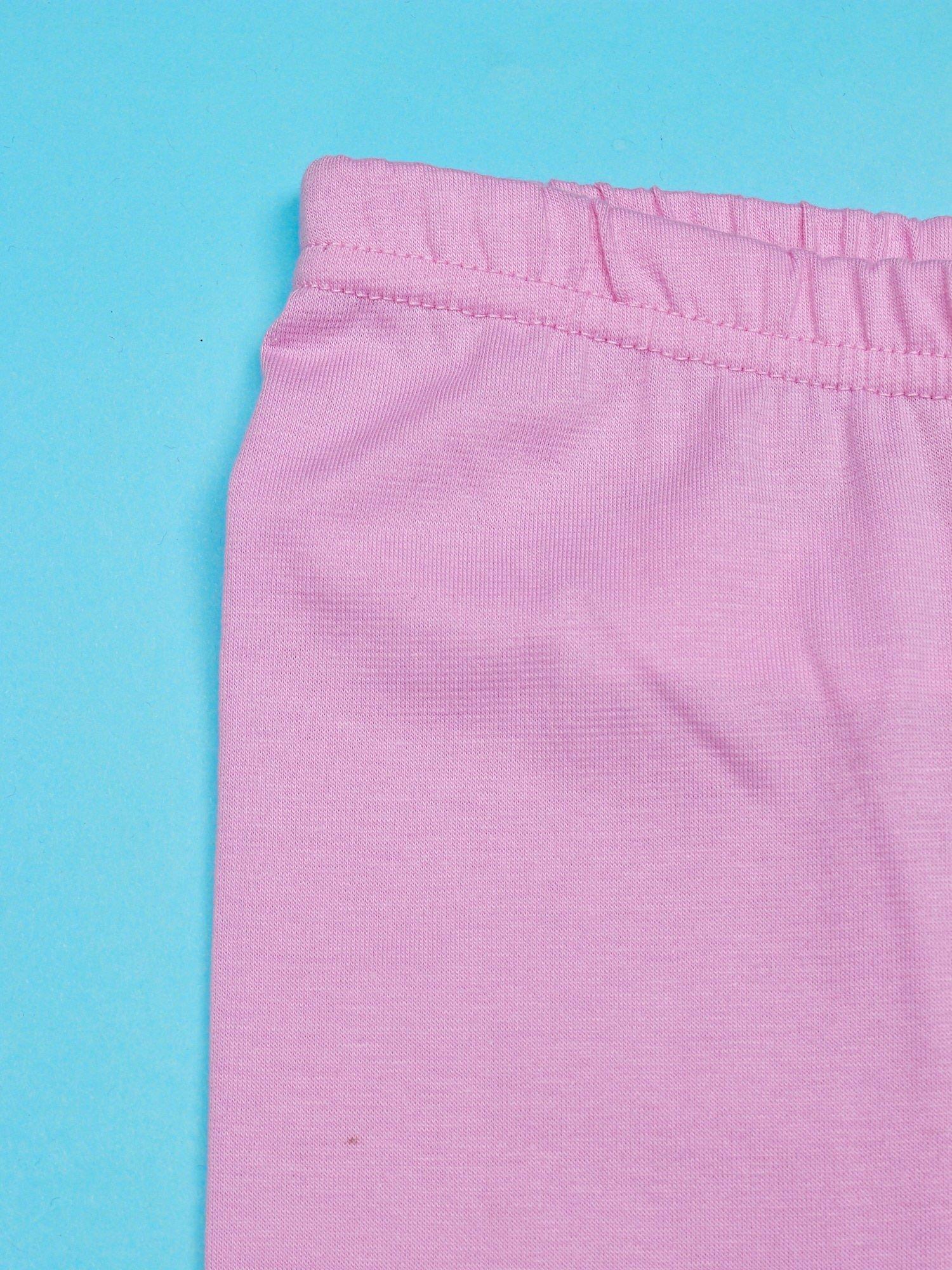 Jasnoróżowe legginsy dla dziewczynki HELLO KITTY                                   zdj.                                  3