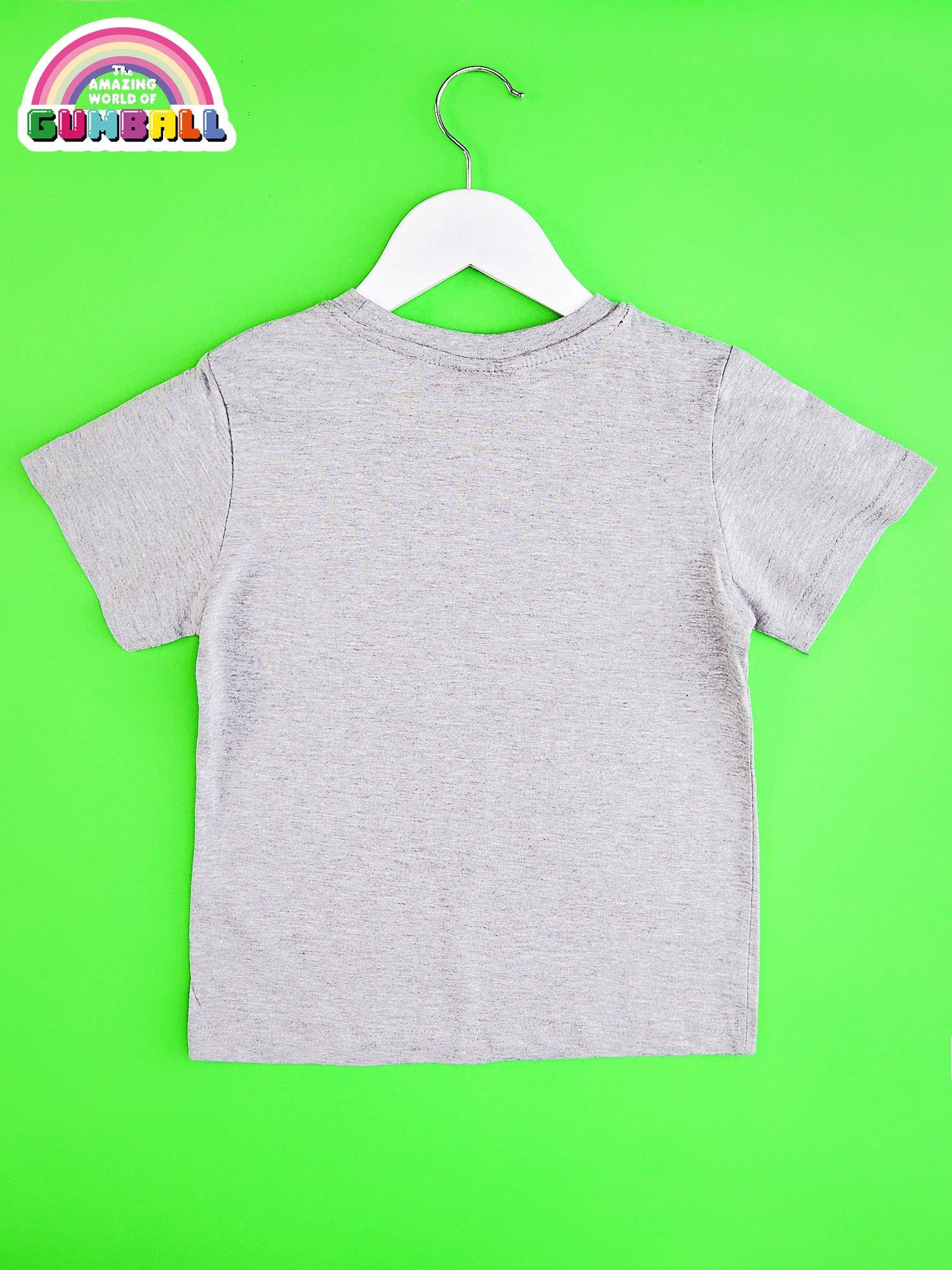 Jasnoszary t-shirt chłopięcy GUMBALL                                  zdj.                                  2