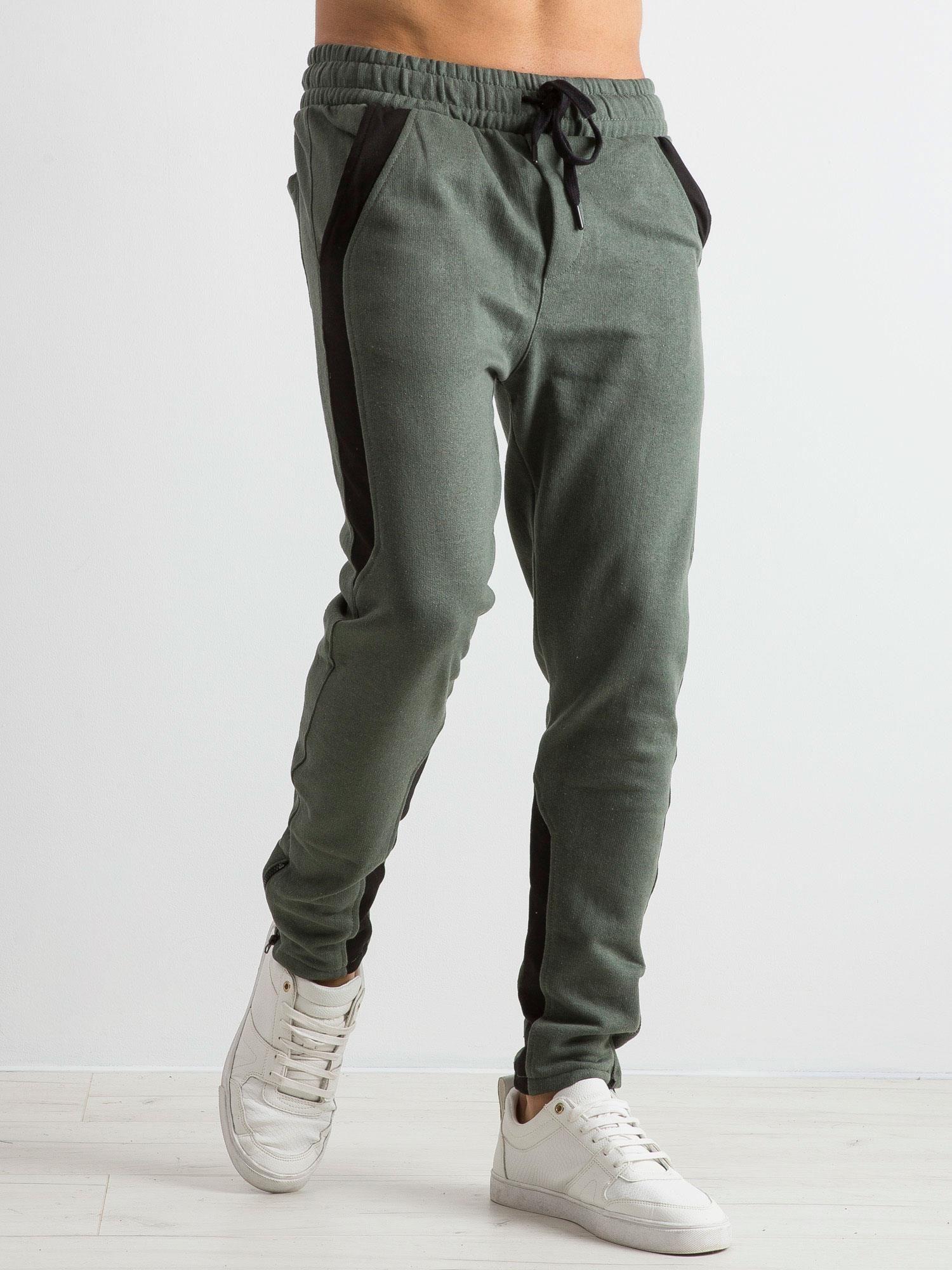 ea2e1ea84d2ff Khaki spodnie dresowe męskie Durable - Mężczyźni Spodnie dresowe ...