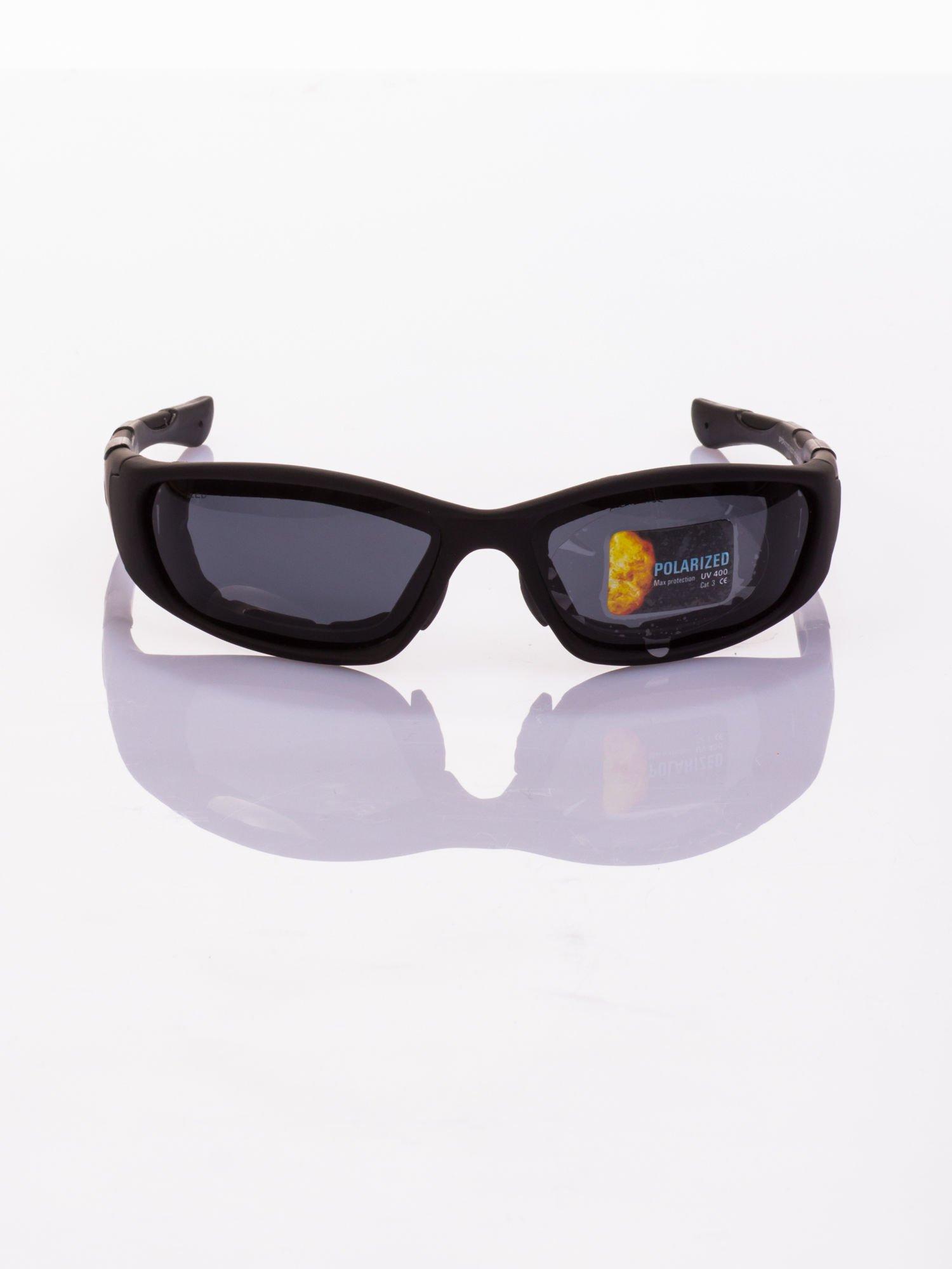 Klasyczne, sportowe okulary przeciwsłoneczne z POLARYZACJĄ                                   zdj.                                  3